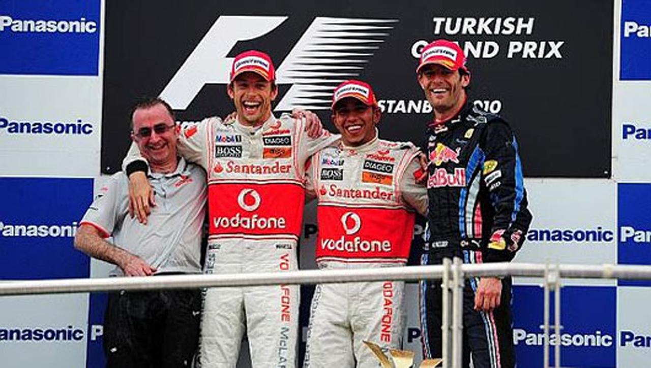 F1 トルコGP 決勝