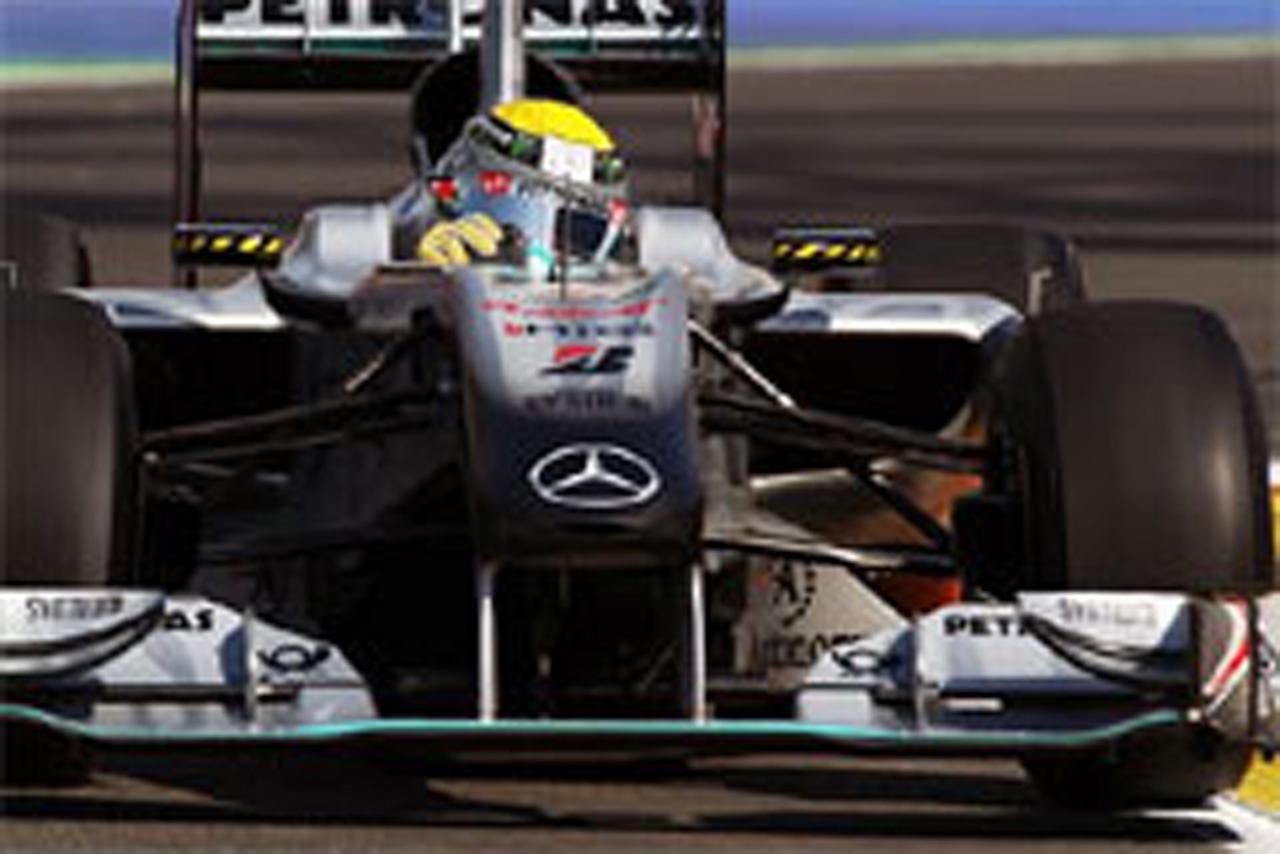 F1ヨーロッパGP フリー走行1回目