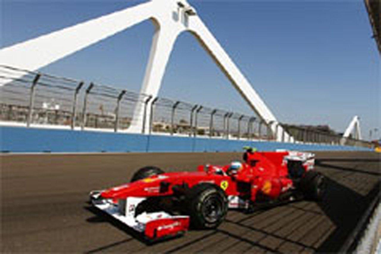 F1ヨーロッパGP フリー走行2回目