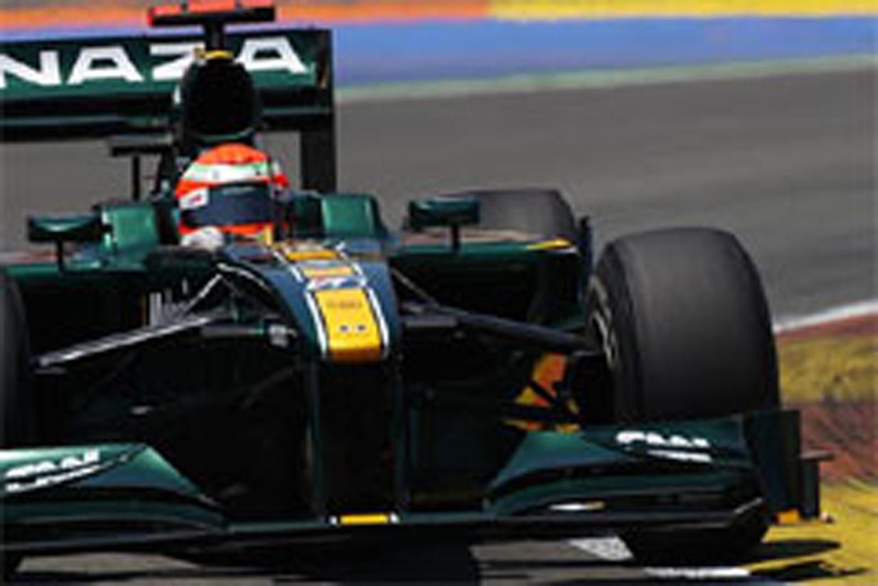 ロータス F1ヨーロッパGP 予選