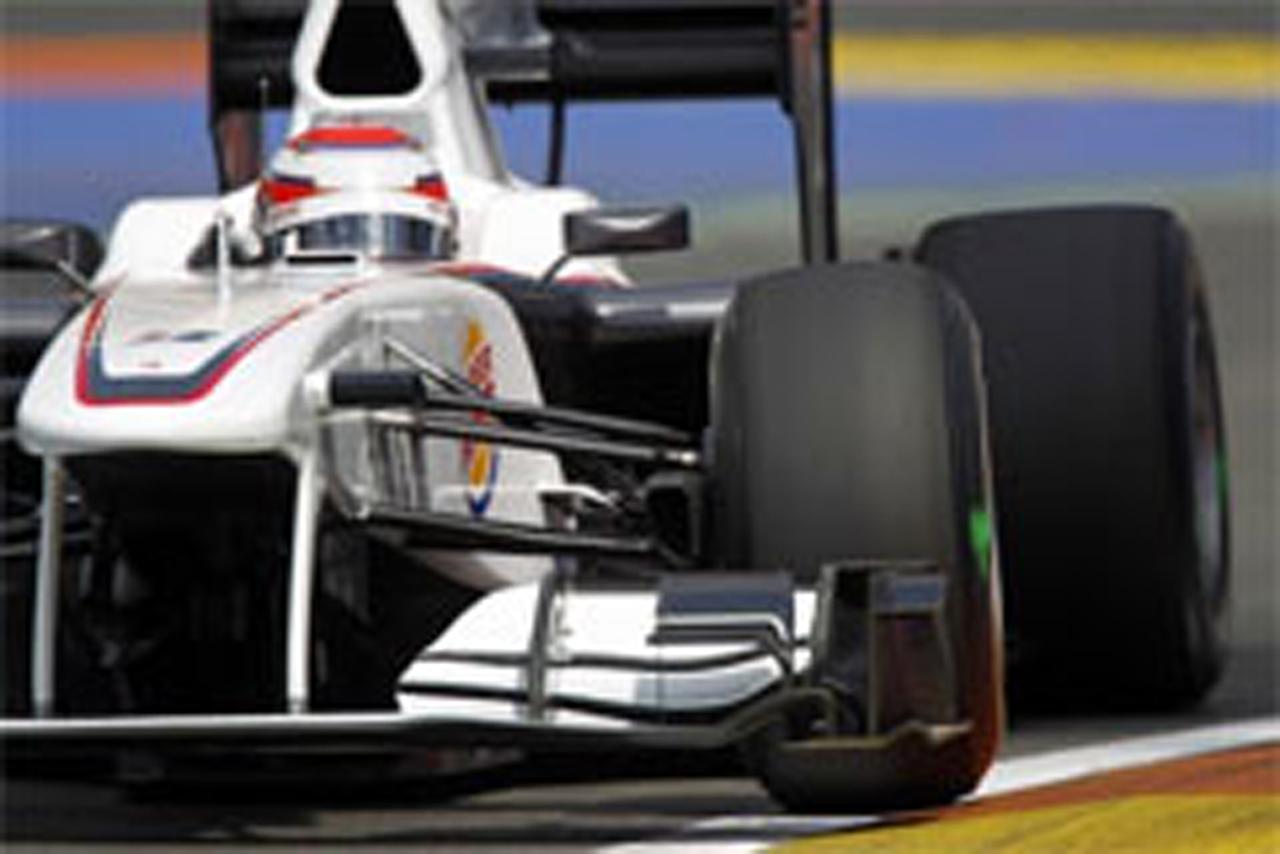 小林可夢偉 ザウバー F1ヨーロッパGP 予選