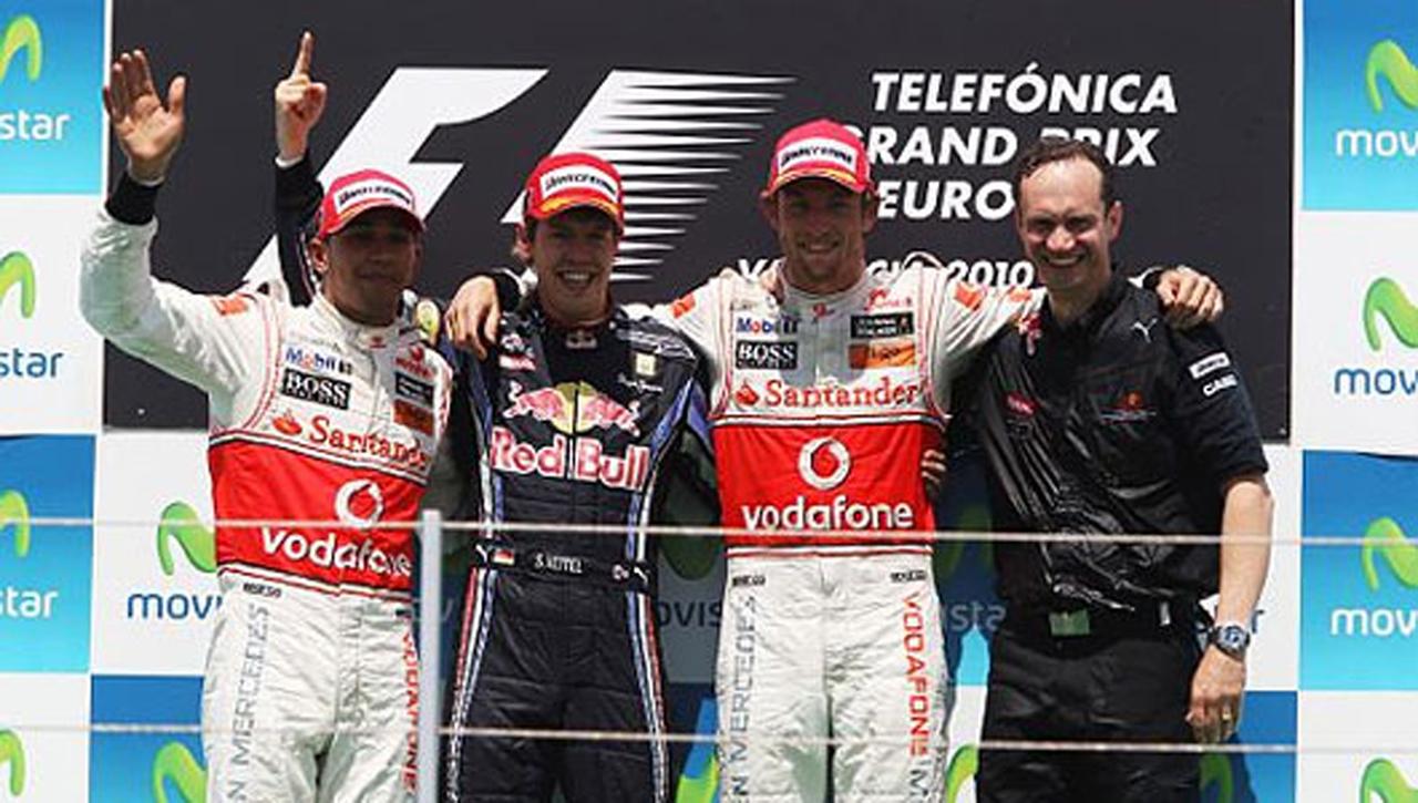 F1 ヨーロッパGP 決勝