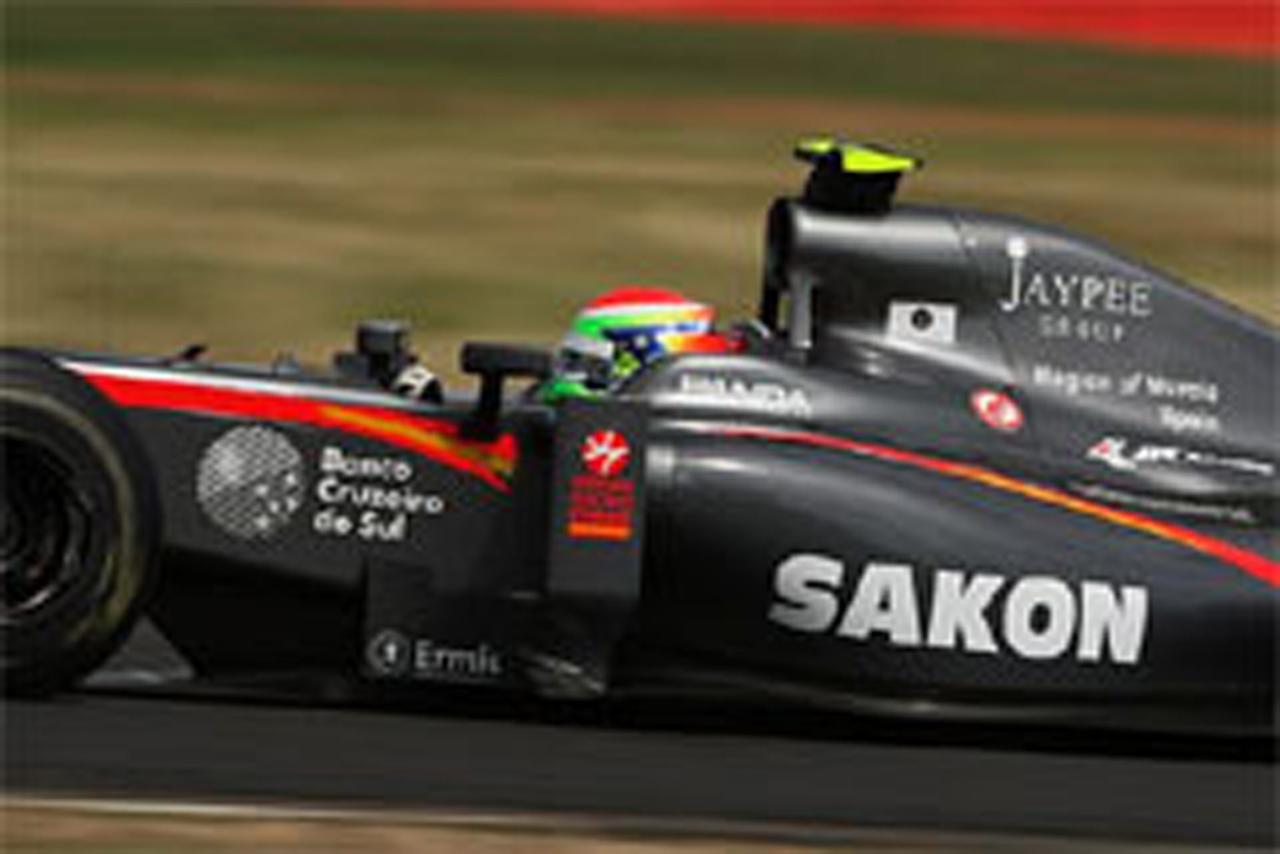 山本左近 F1イギリスGP 予選