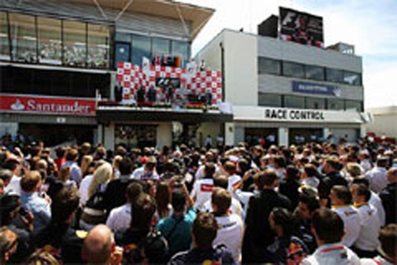 ブリヂストン F1 イギリスGP