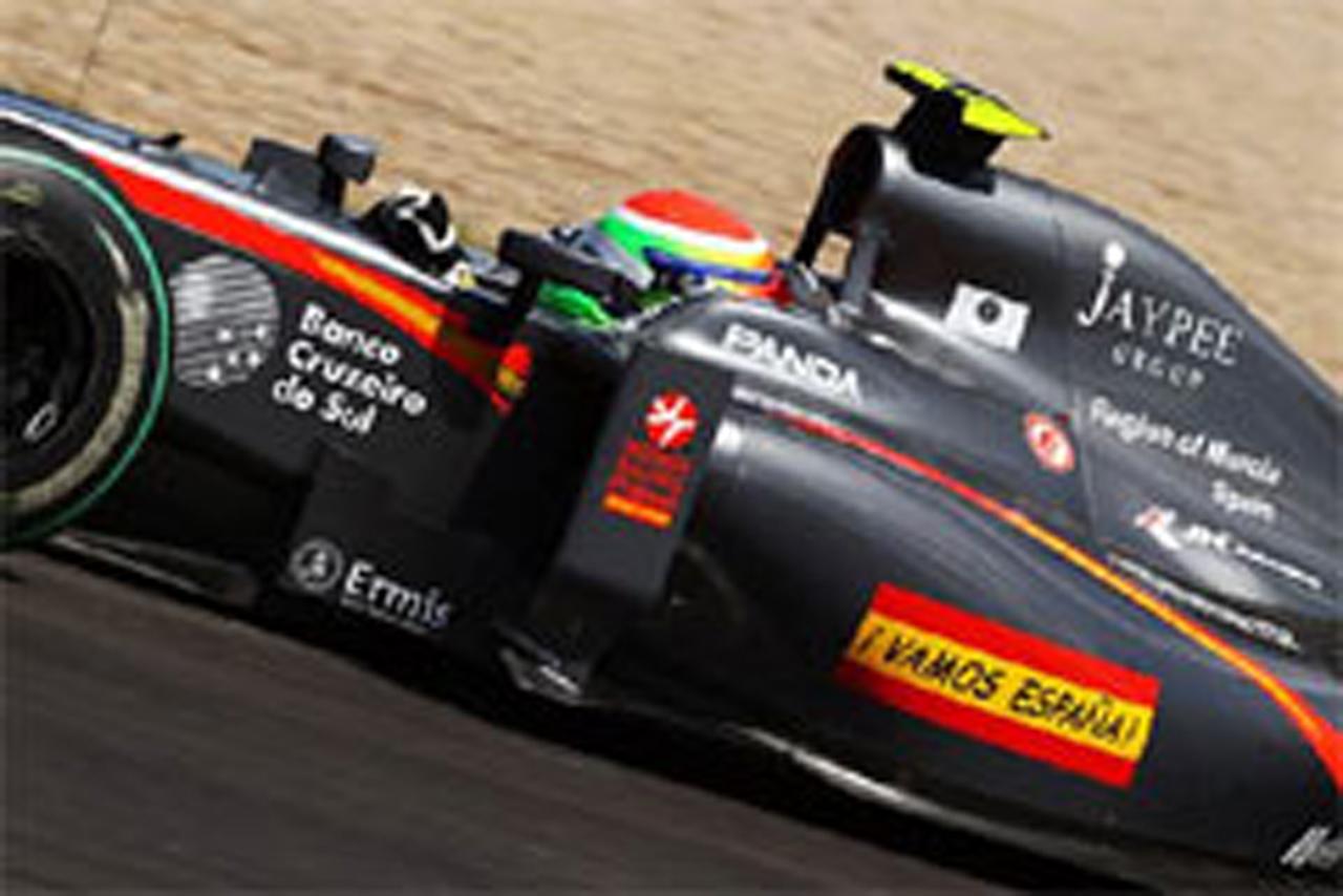 山本左近 F1イギリスGP