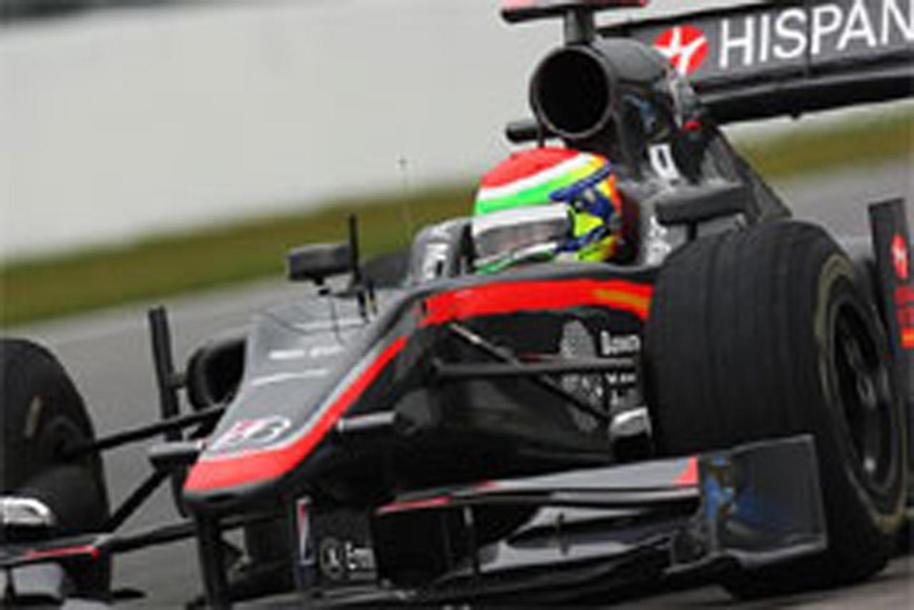 山本左近(ヒスパニア・レーシング) F1ドイツGP 初日