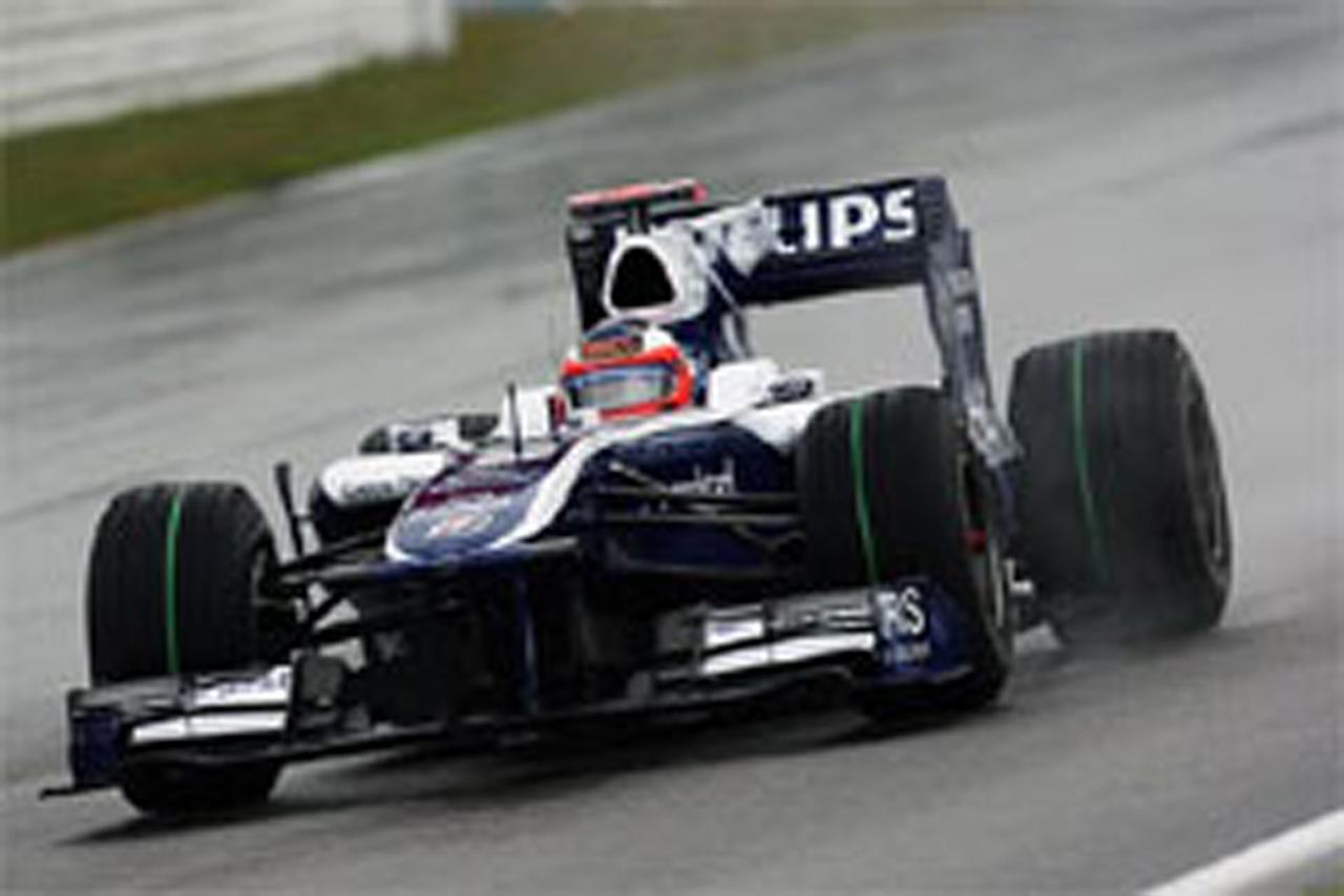 ウィリアムズ F1ドイツGP 初日
