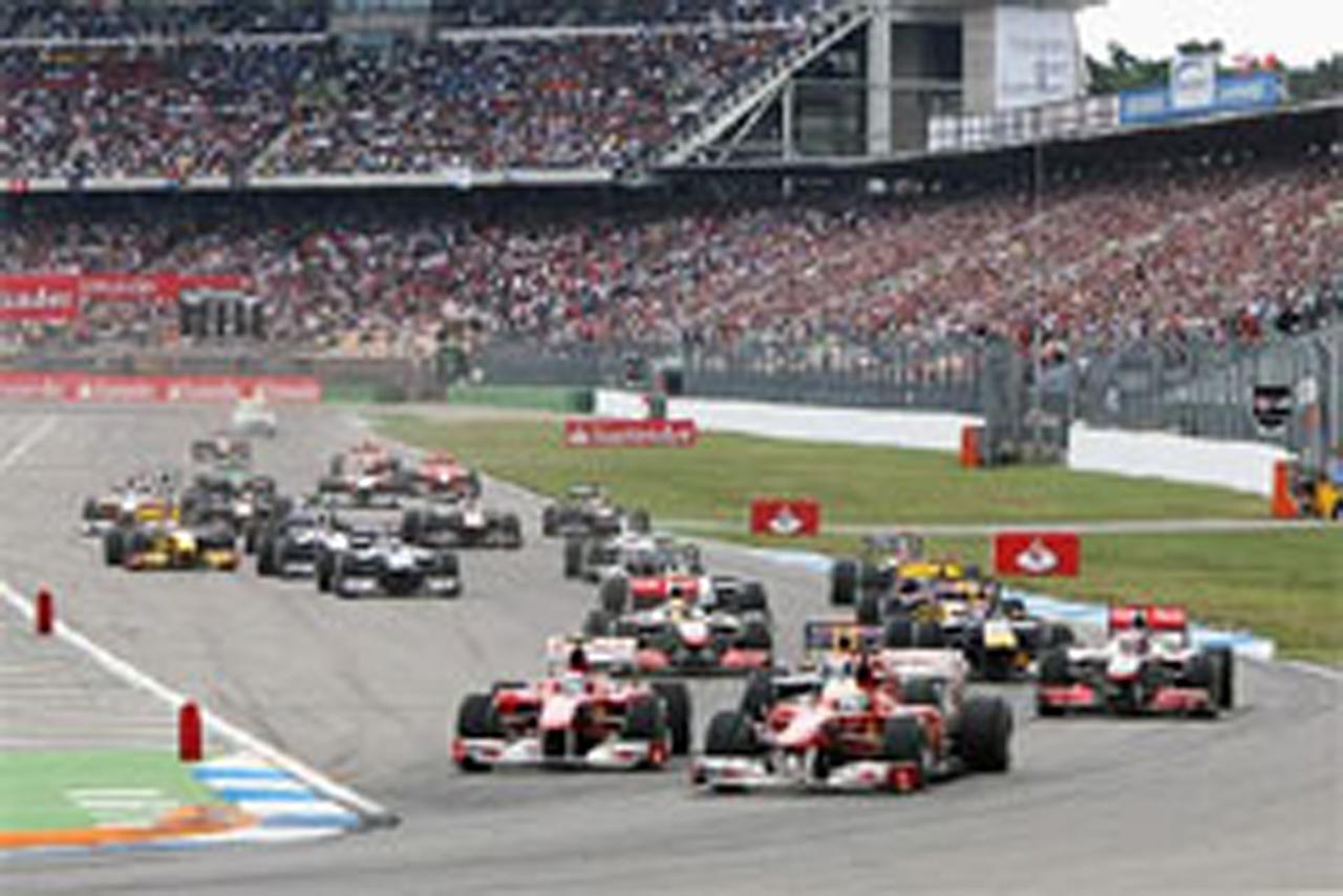 F1ドイツGP:優勝はフェルナンド...