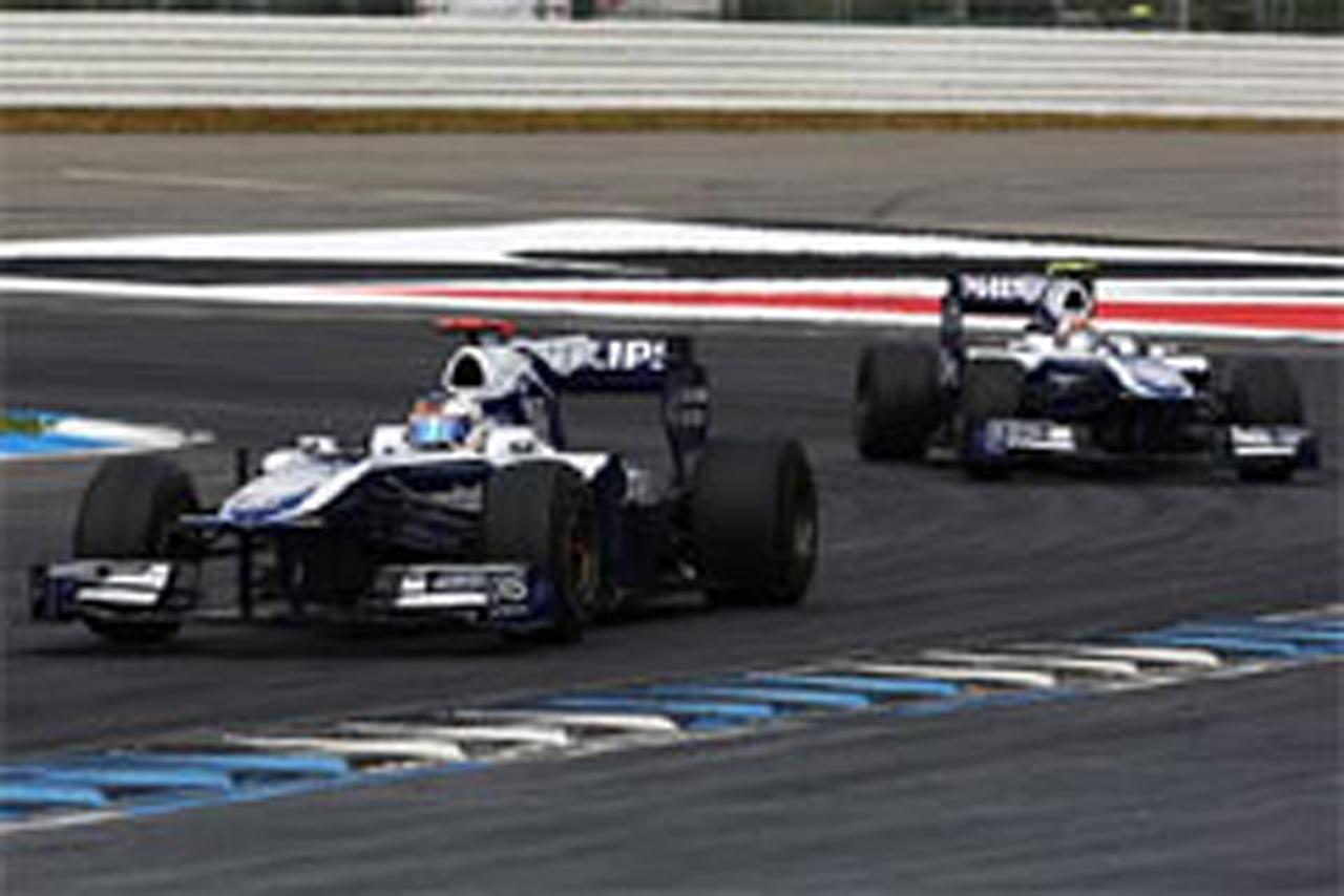 ウィリアムズ F1ドイツGP 決勝