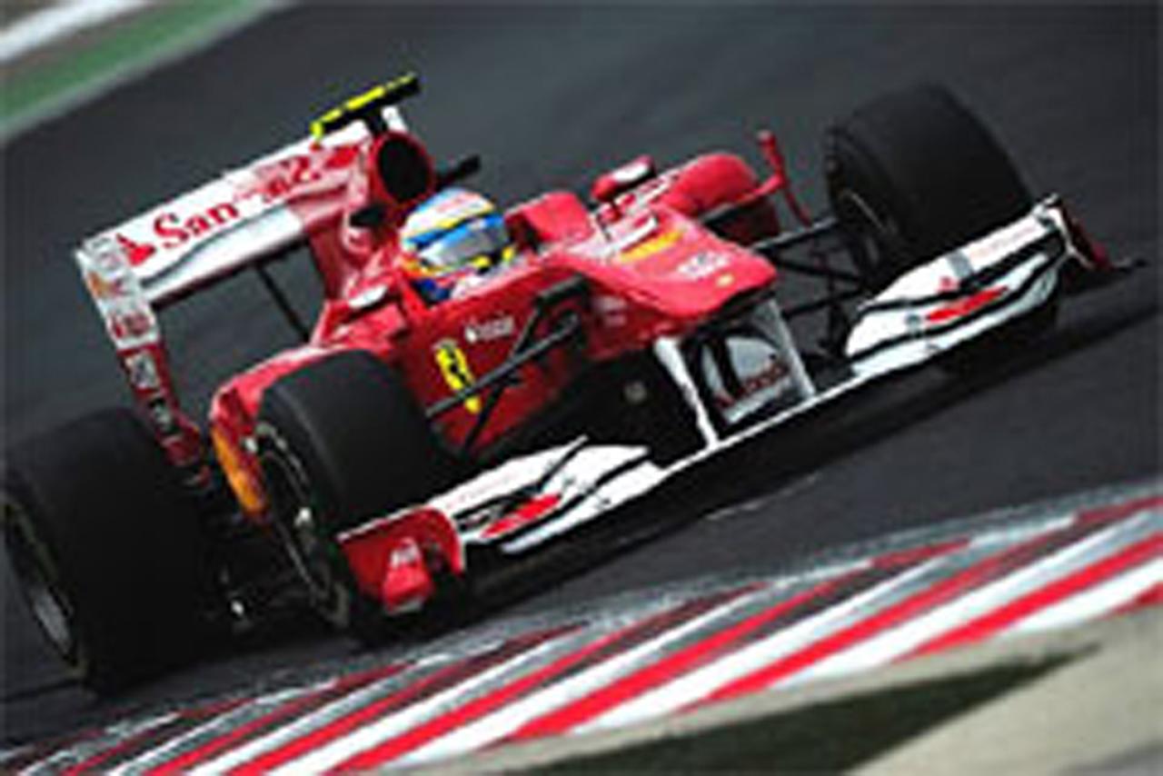 フェラーリ F1ハンガリーGP 初日