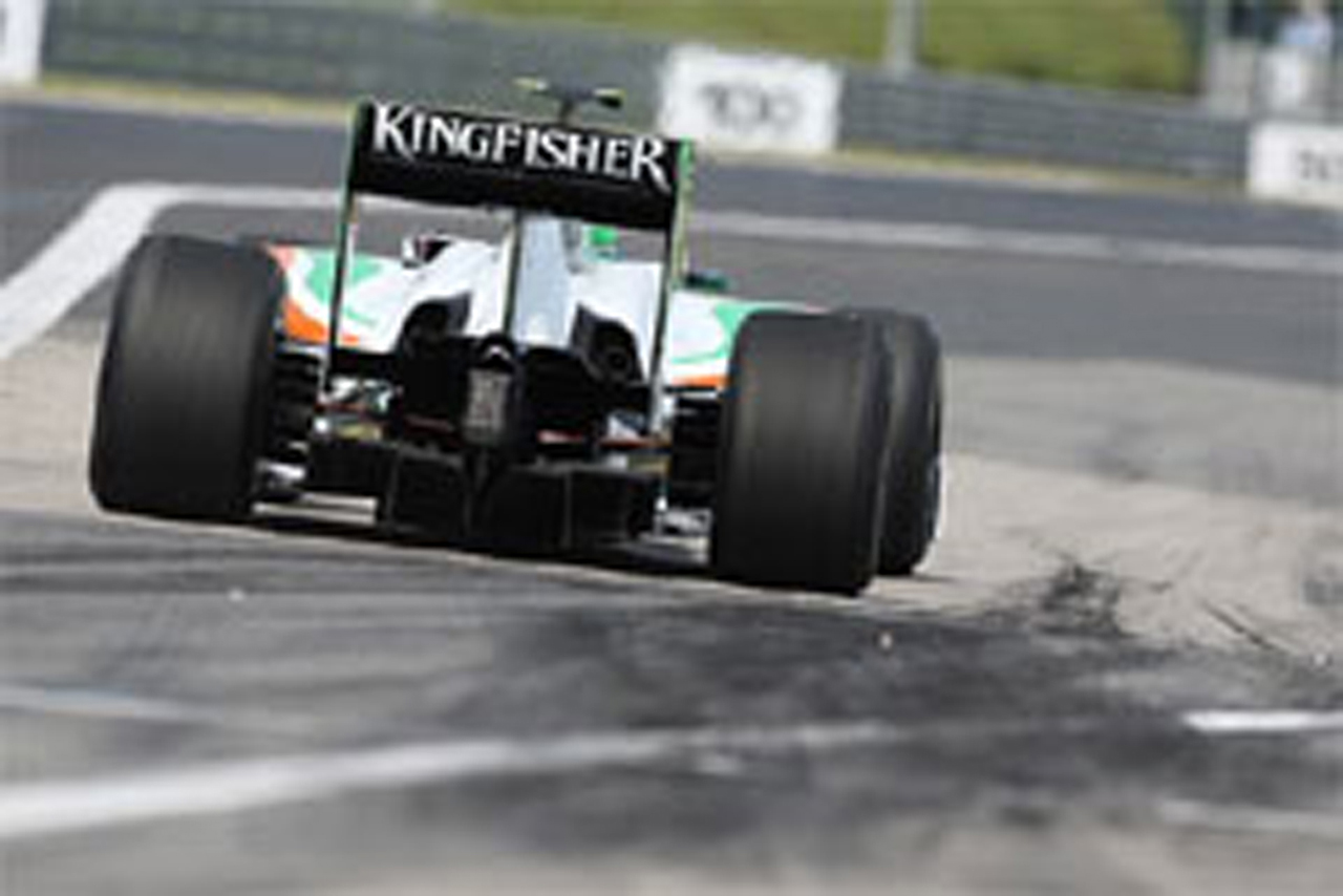 フォース・インディア F1ハンガリーGP 予選