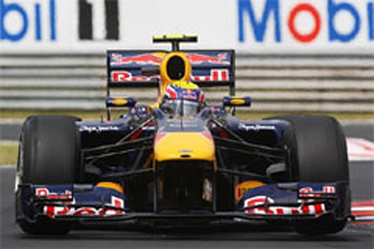 F1ハンガリーGP フリー走行3回目
