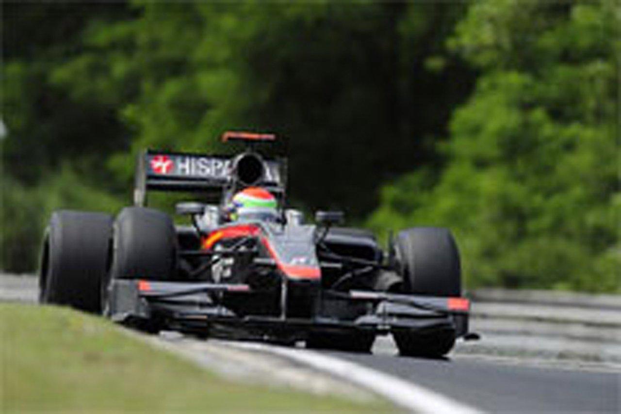 ヒスパニア・レーシング F1ハンガリーGP 予選