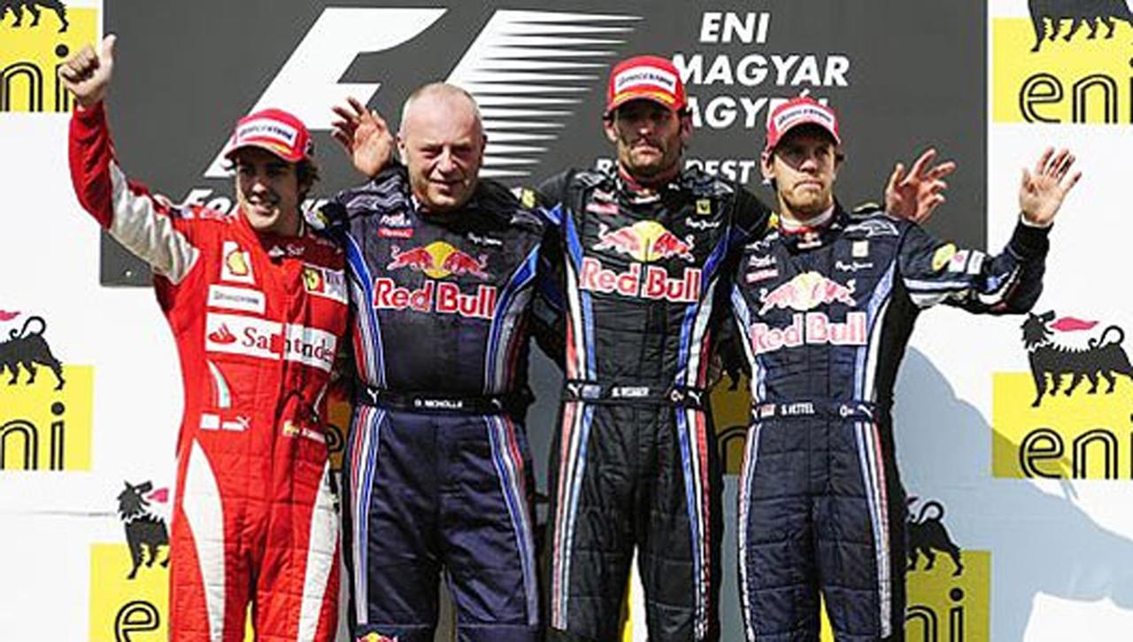 F1ハンガリーGP 決勝