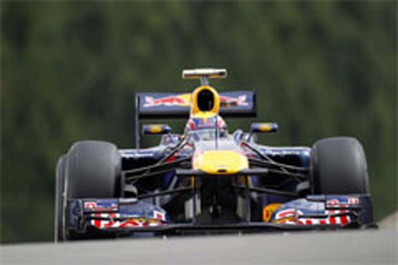 F1ベルギーGP フリー走行3回目