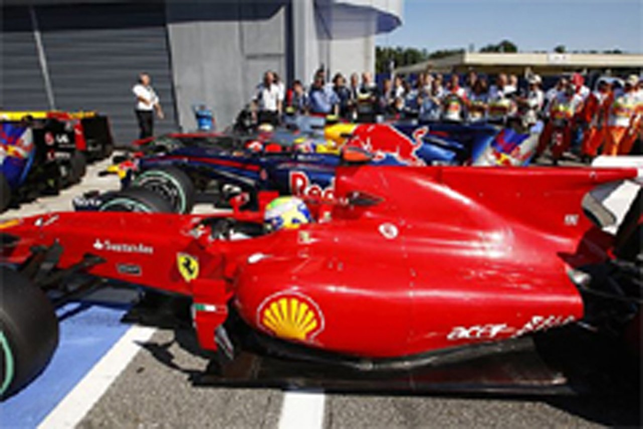 ブリヂストン F1イタリアGP 予選