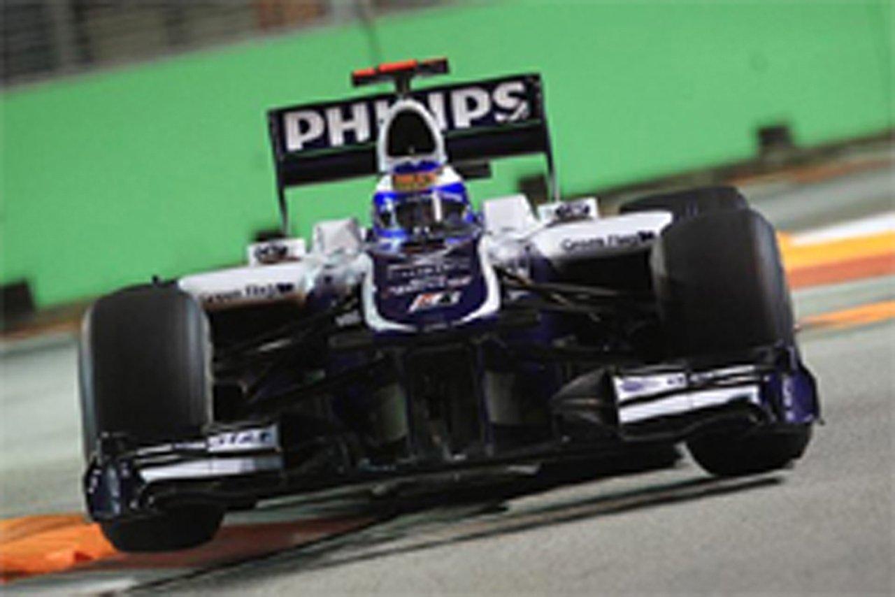ウィリアムズ F1シンガポールGP 初日