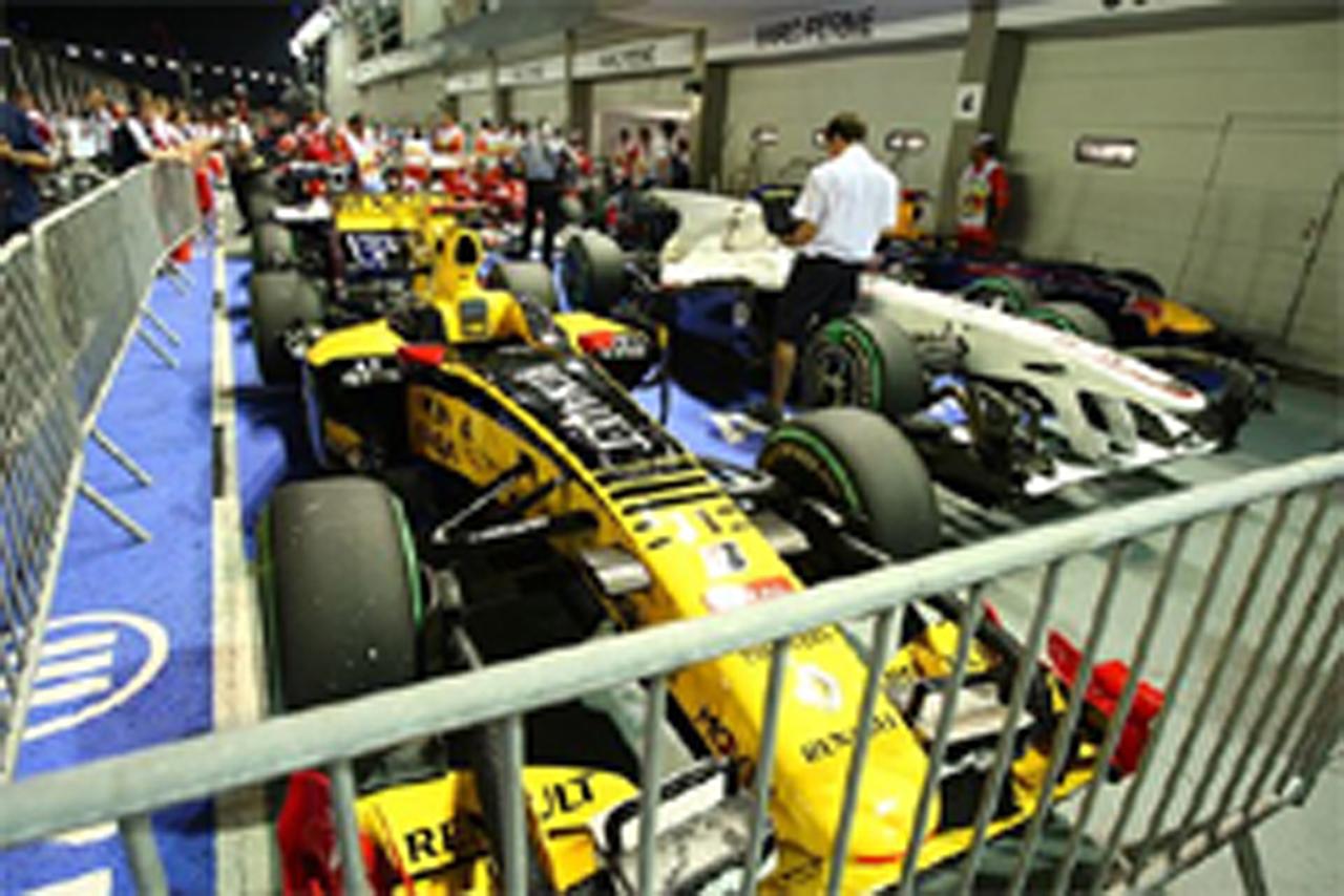 ブリヂストン F1シンガポールGP 予選