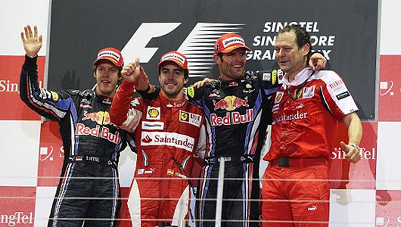 F1シンガポールGP 結果