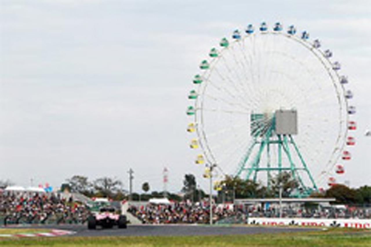 F1日本GP 予選:セバスチャン・ベッテルがポールポジション