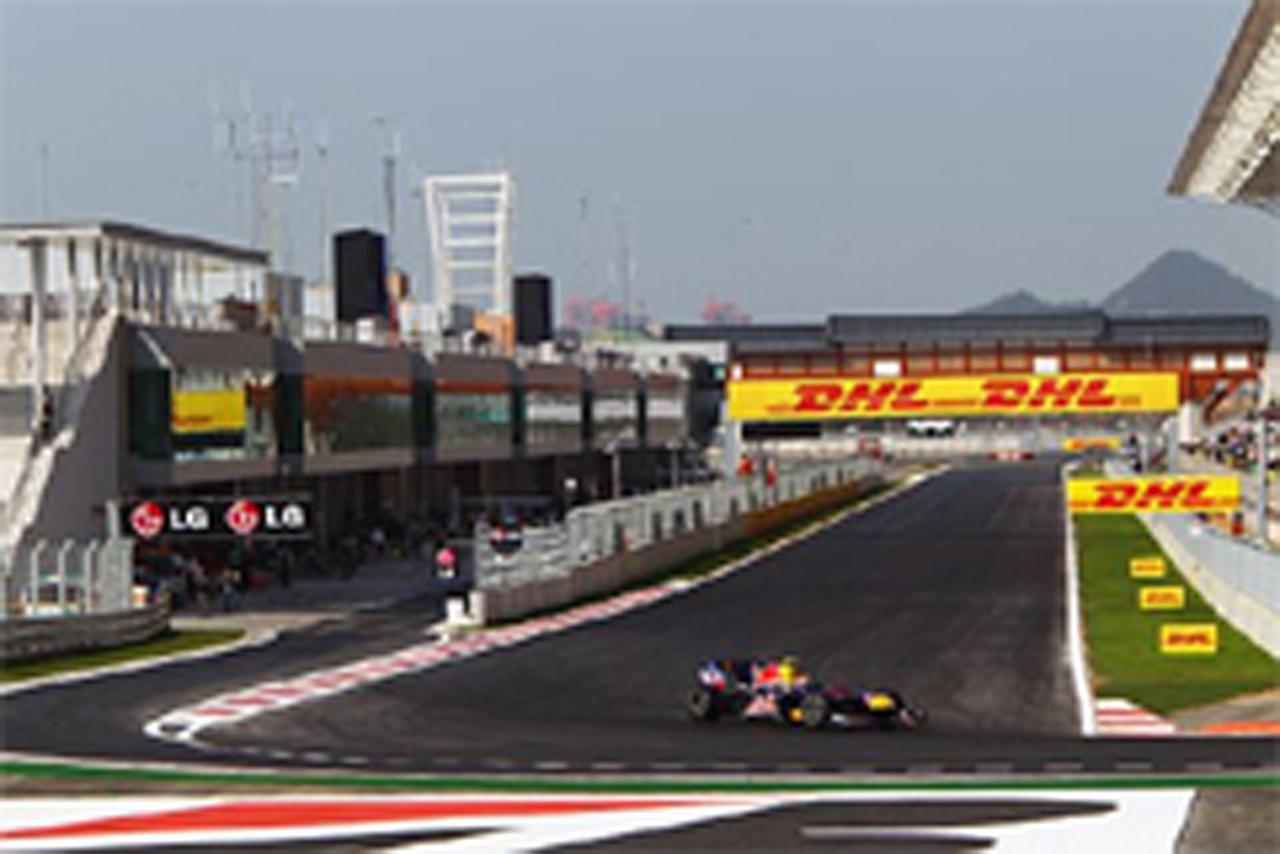 F1韓国GP フリー走行2回目