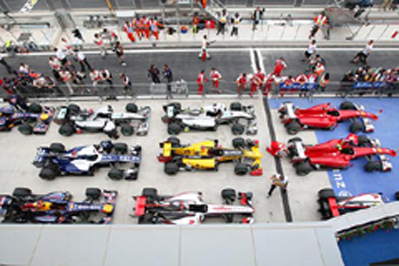 ブリヂストン F1韓国GP 予選