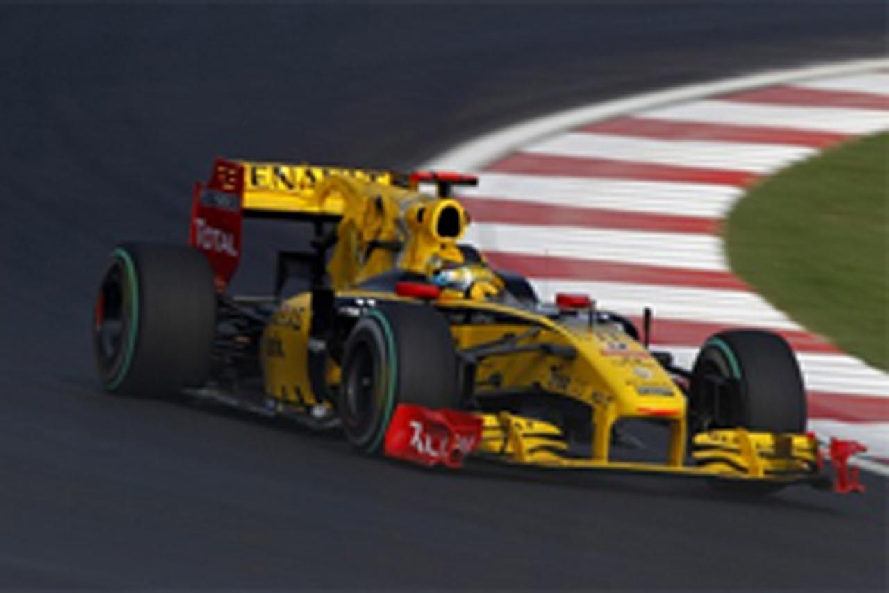 F1韓国GP フリー走行3回目
