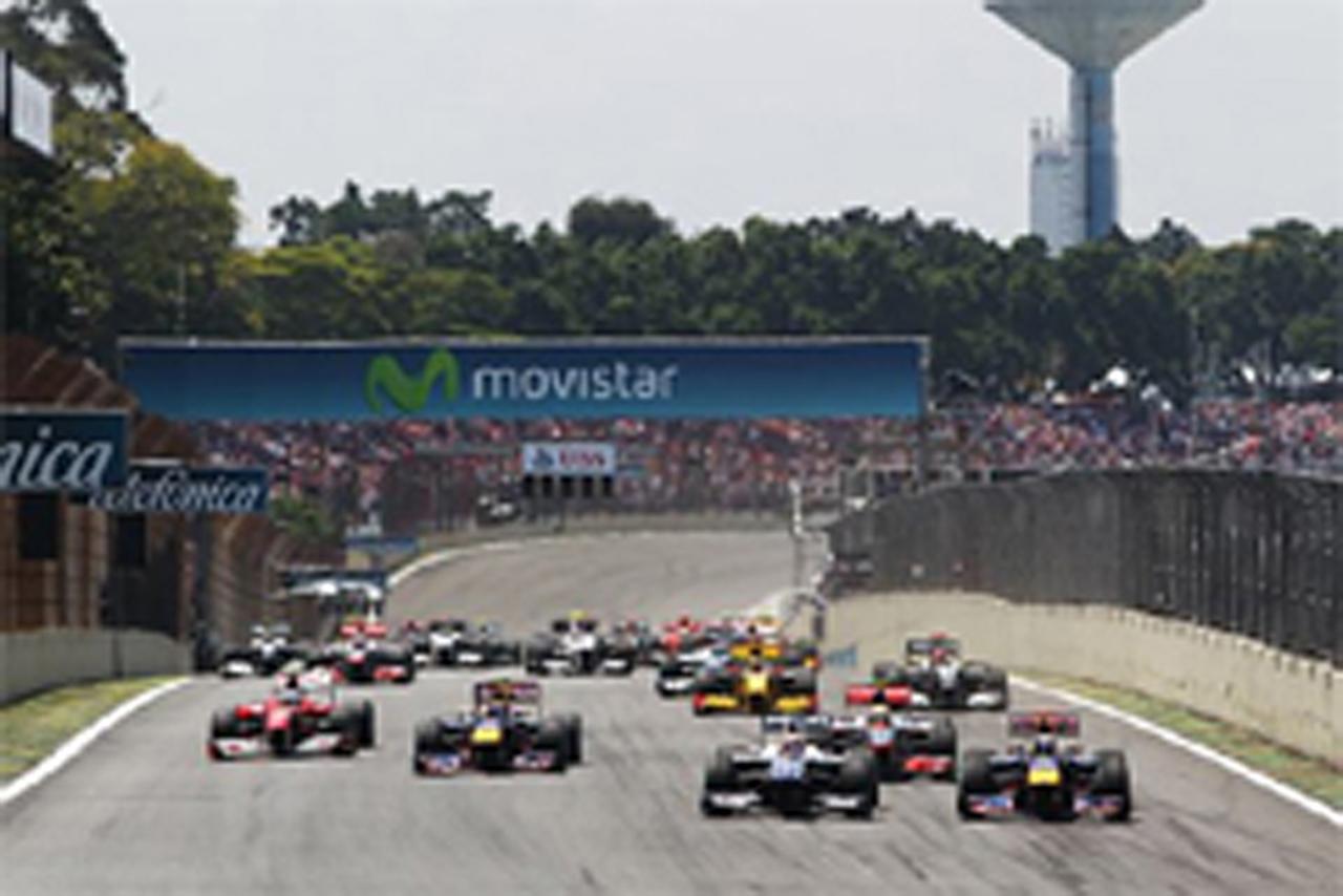 F1ブラジルGP 結果