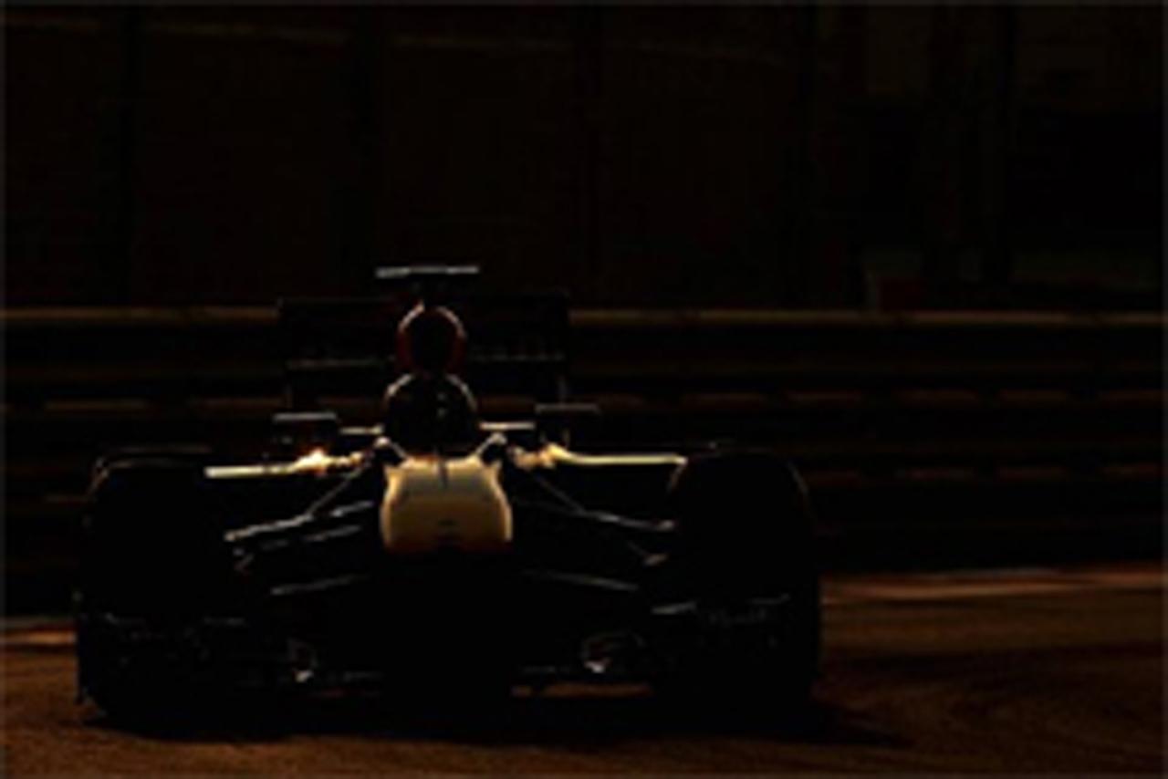 F1若手ドライバーテスト アブダビ
