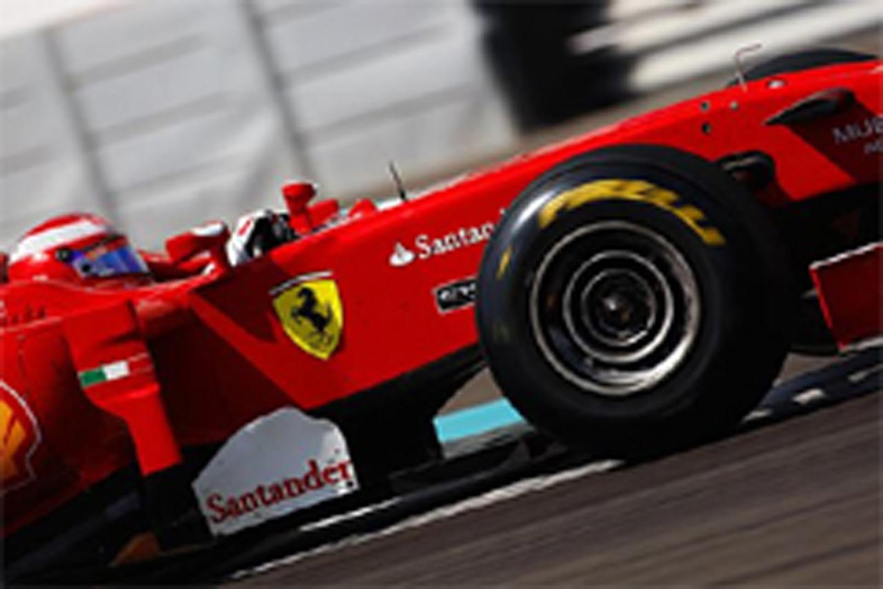 F1 ピレリタイヤ