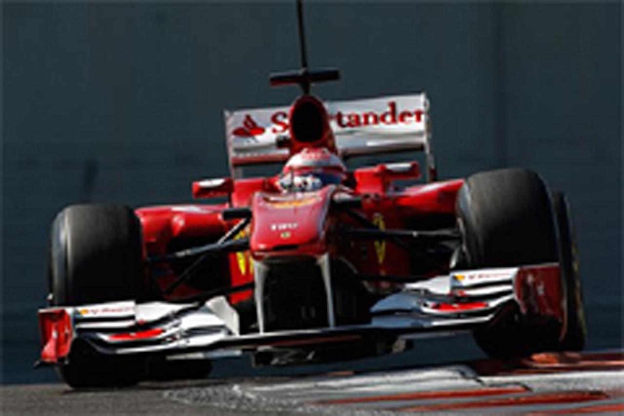 F1 ピレリテスト