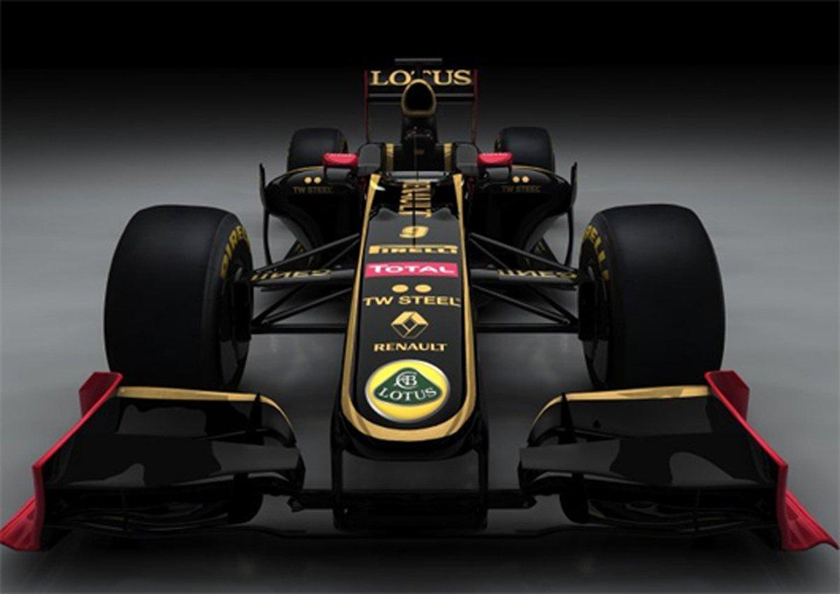 Lotus Renault GP F1マシン