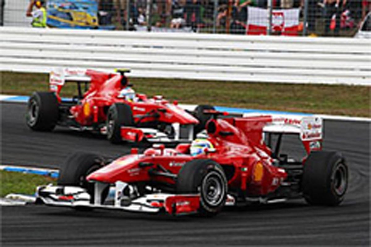 F1 チームオーダー