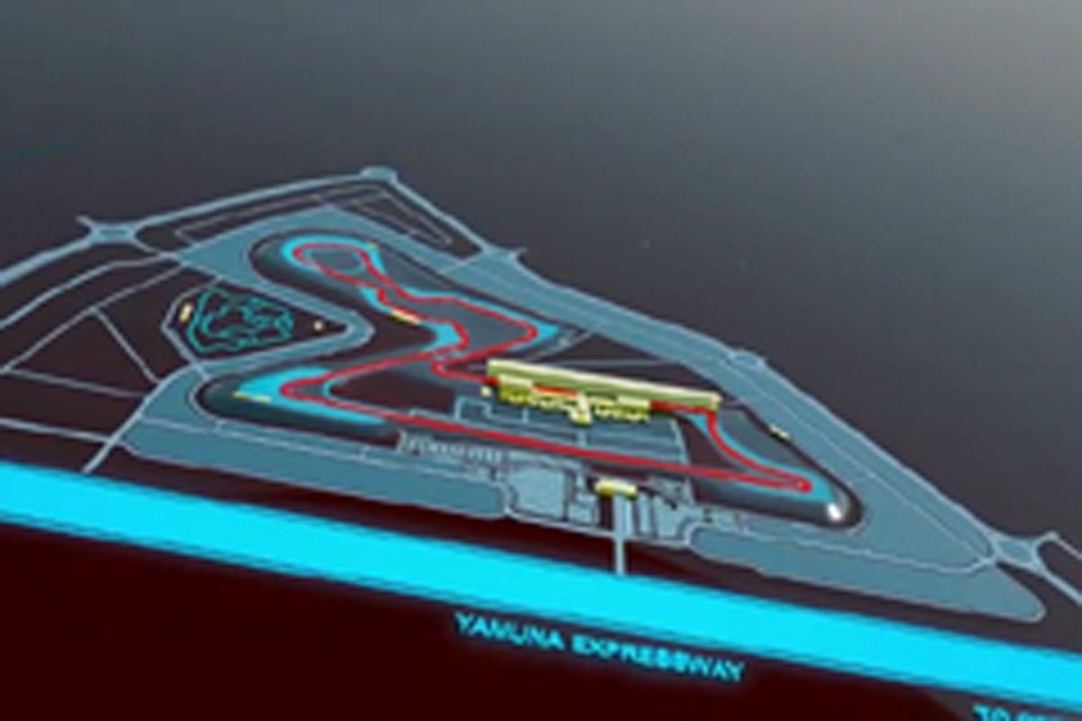 F1インドGP ジャイピー・グループ・サーキット