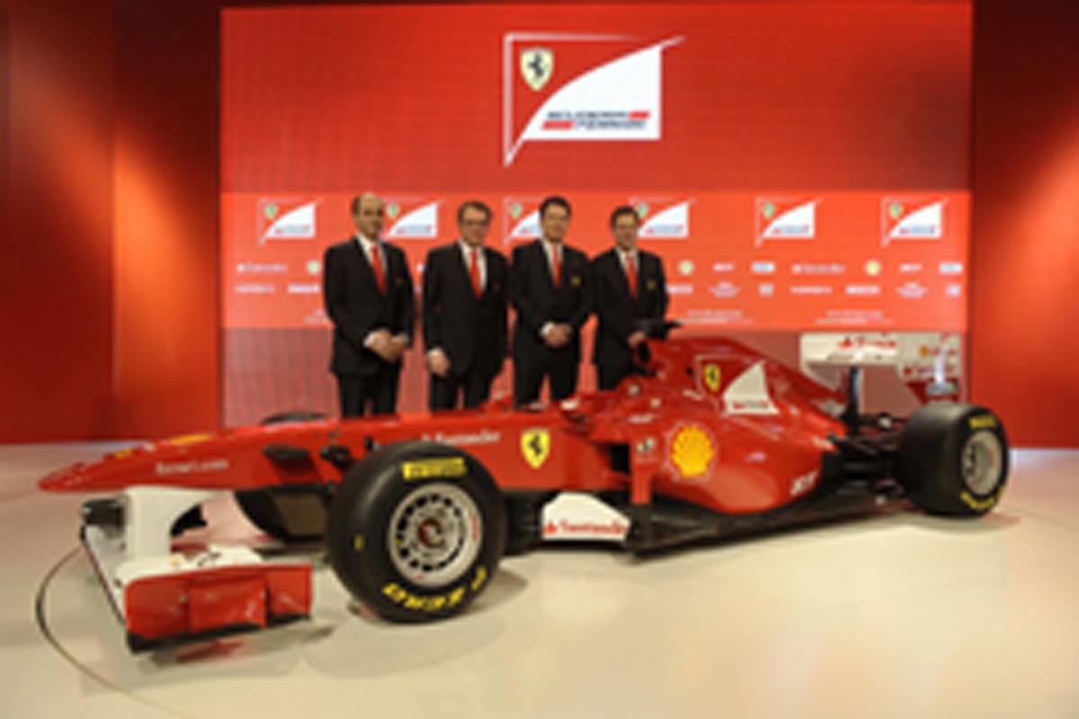 フェラーリ F150 開発陣