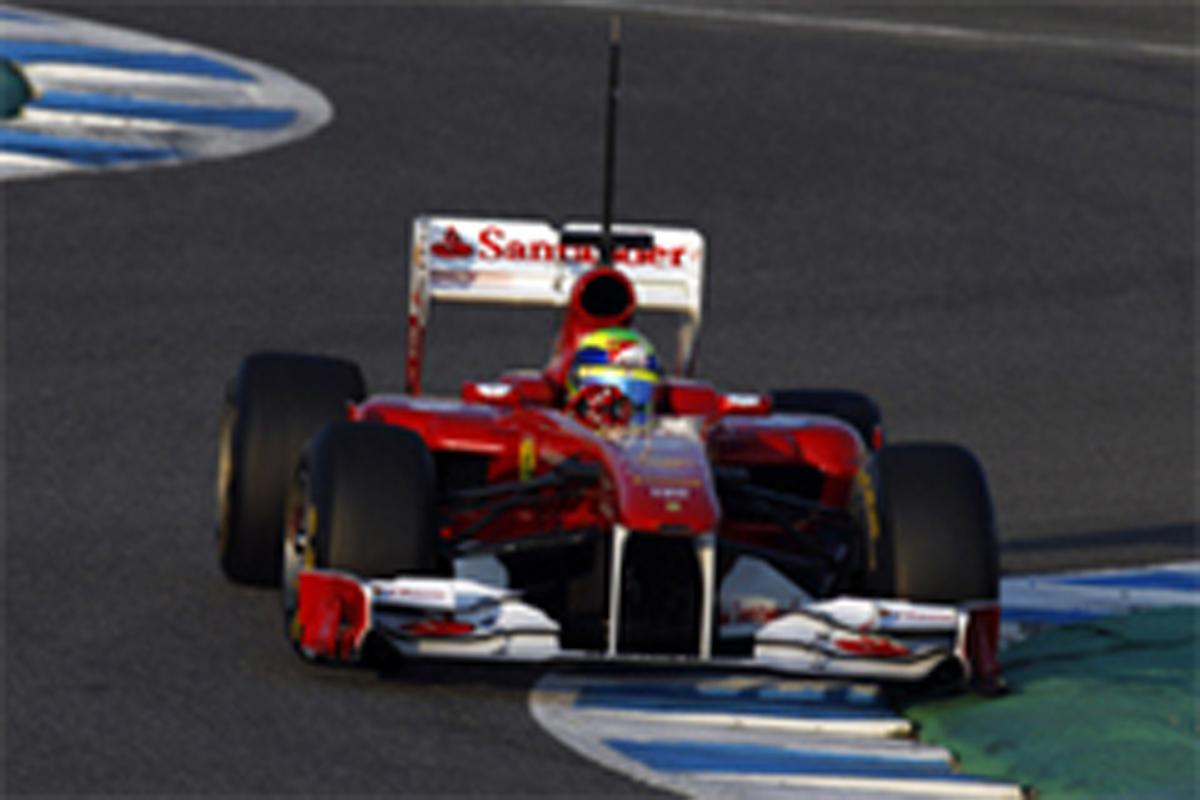 F1 ヘレステスト 初日