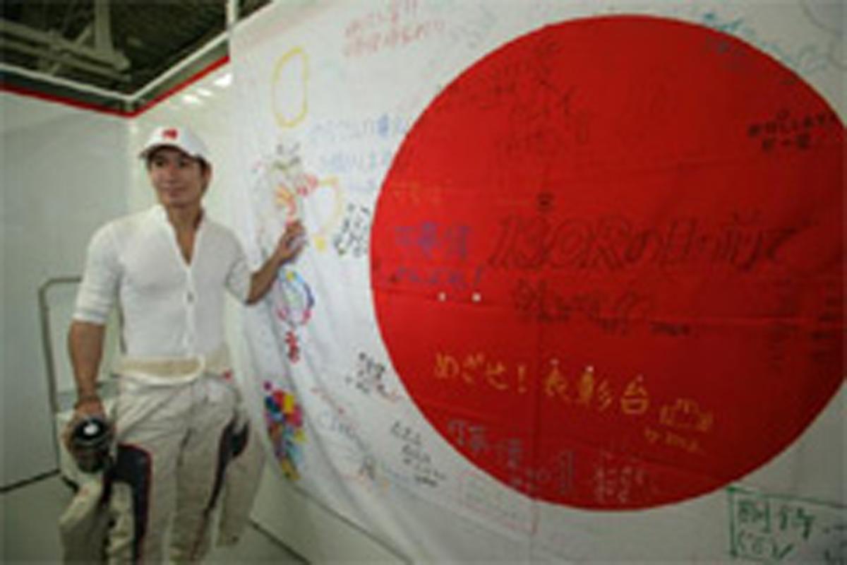 F1ドライバー 小林可夢偉 日本