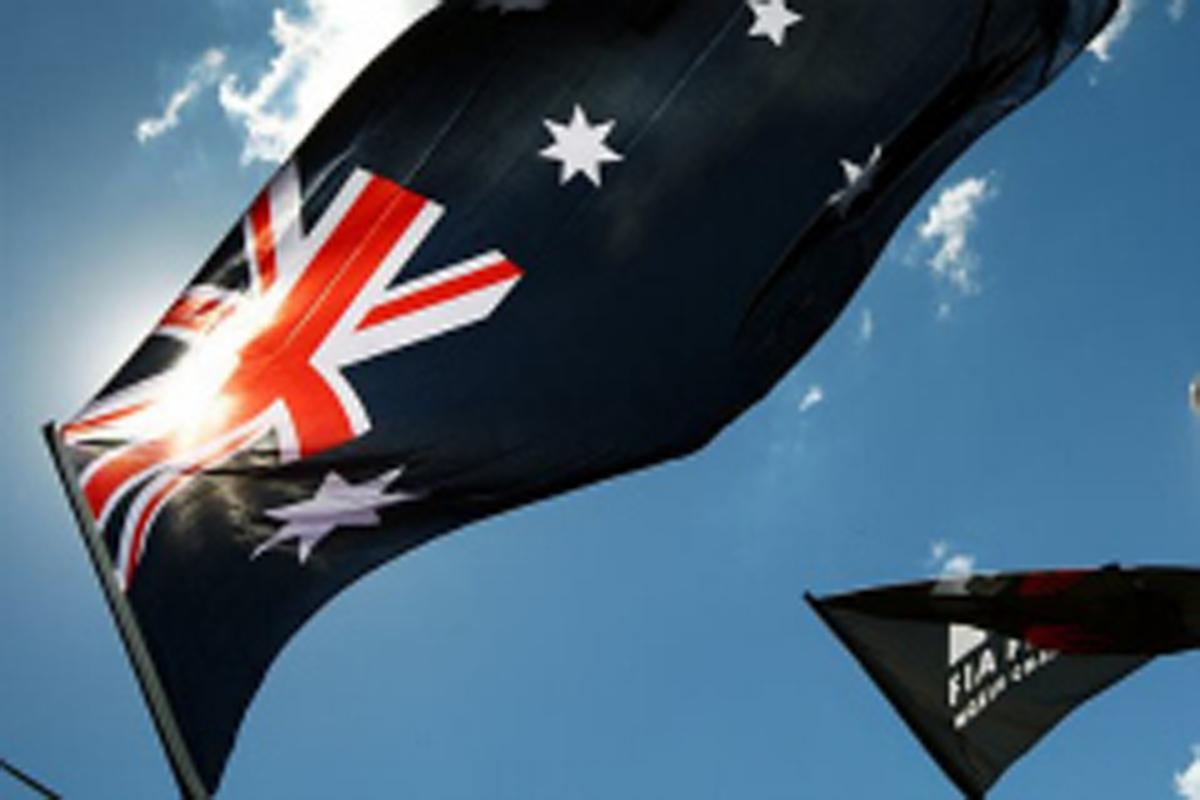 F1オーストラリアGP フリー走行1回目