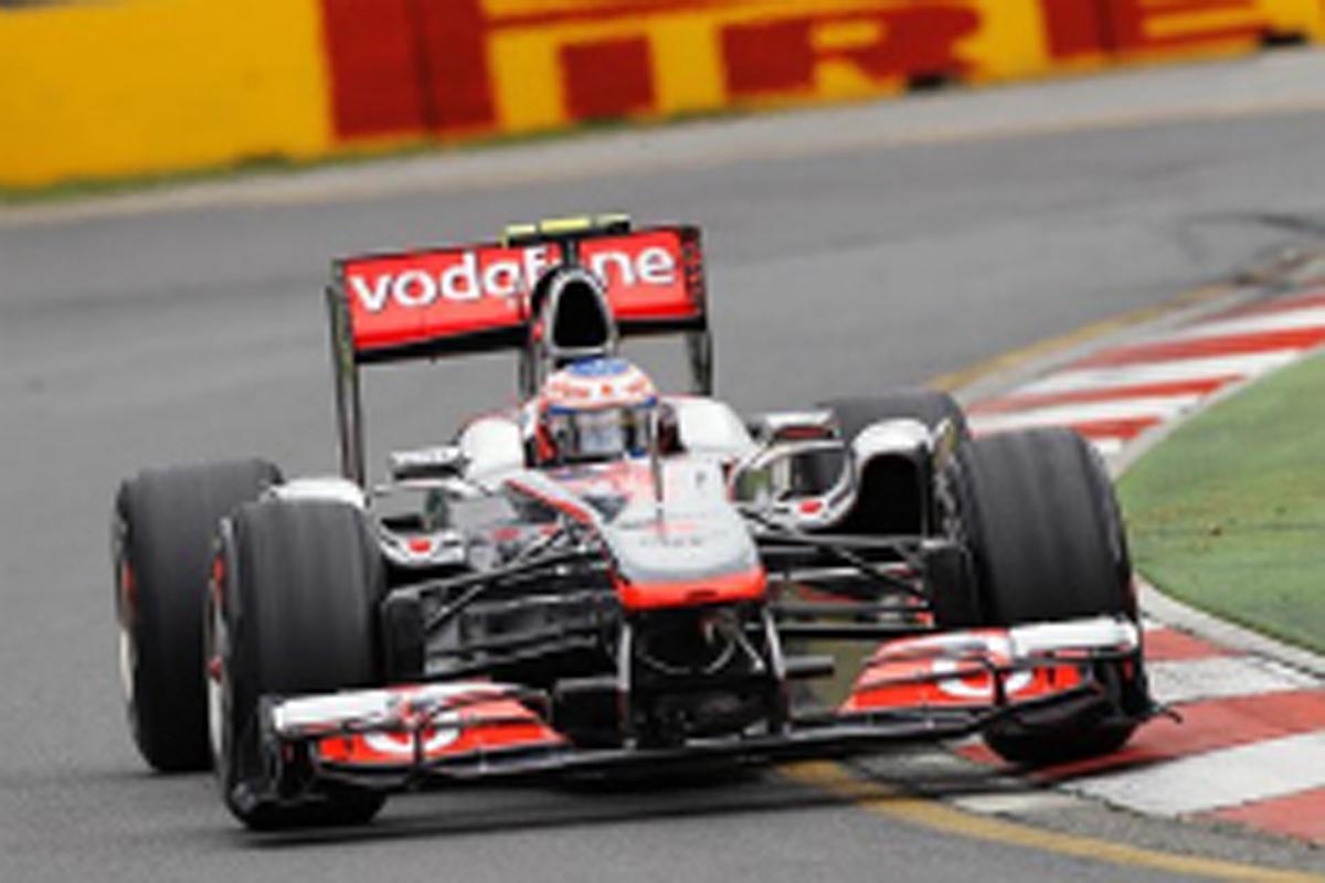 F1オーストラリアGP フリー走行2回目