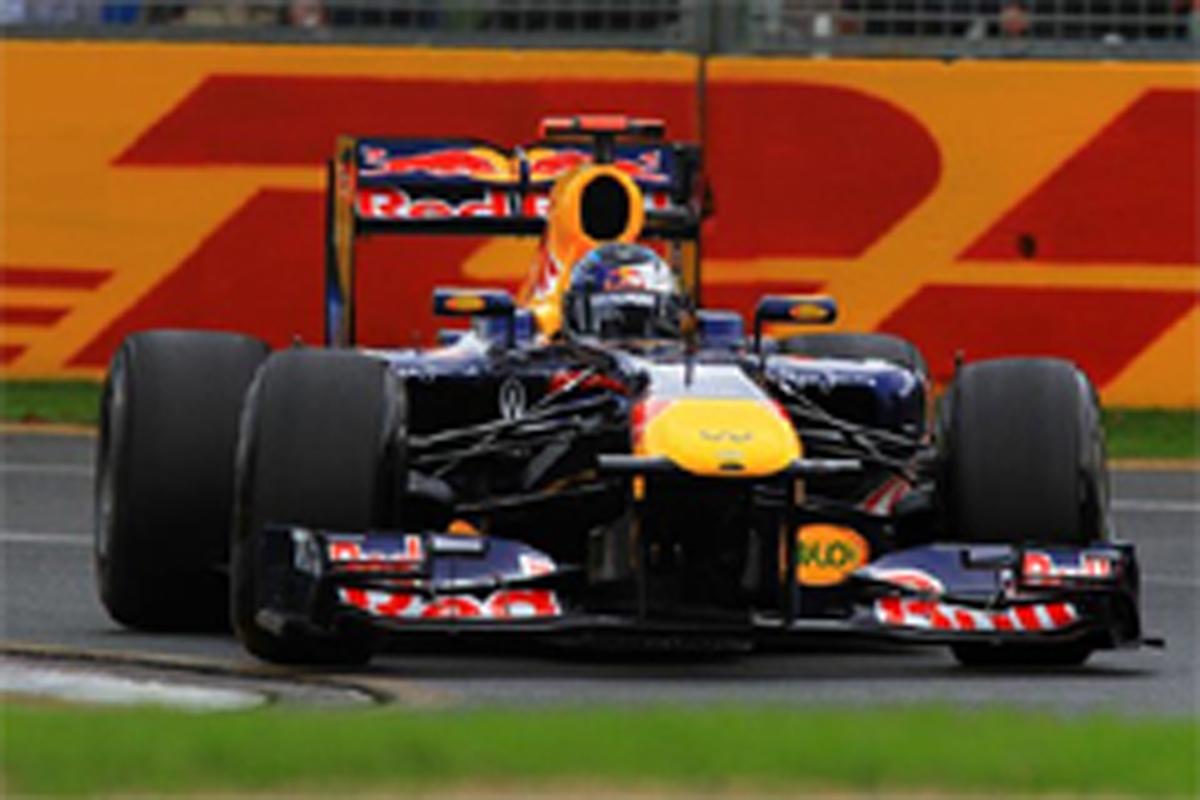 F1オーストラリアGP フリー走行3回目