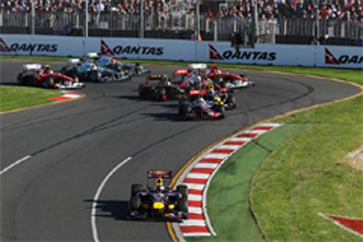 F1オーストラリアGP セバスチャン・ベッテル