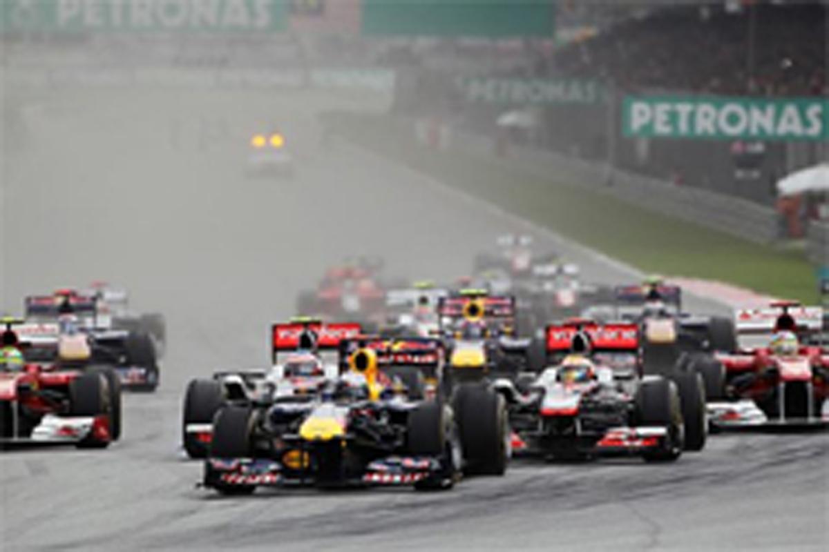 F1マレーシアGP 結果