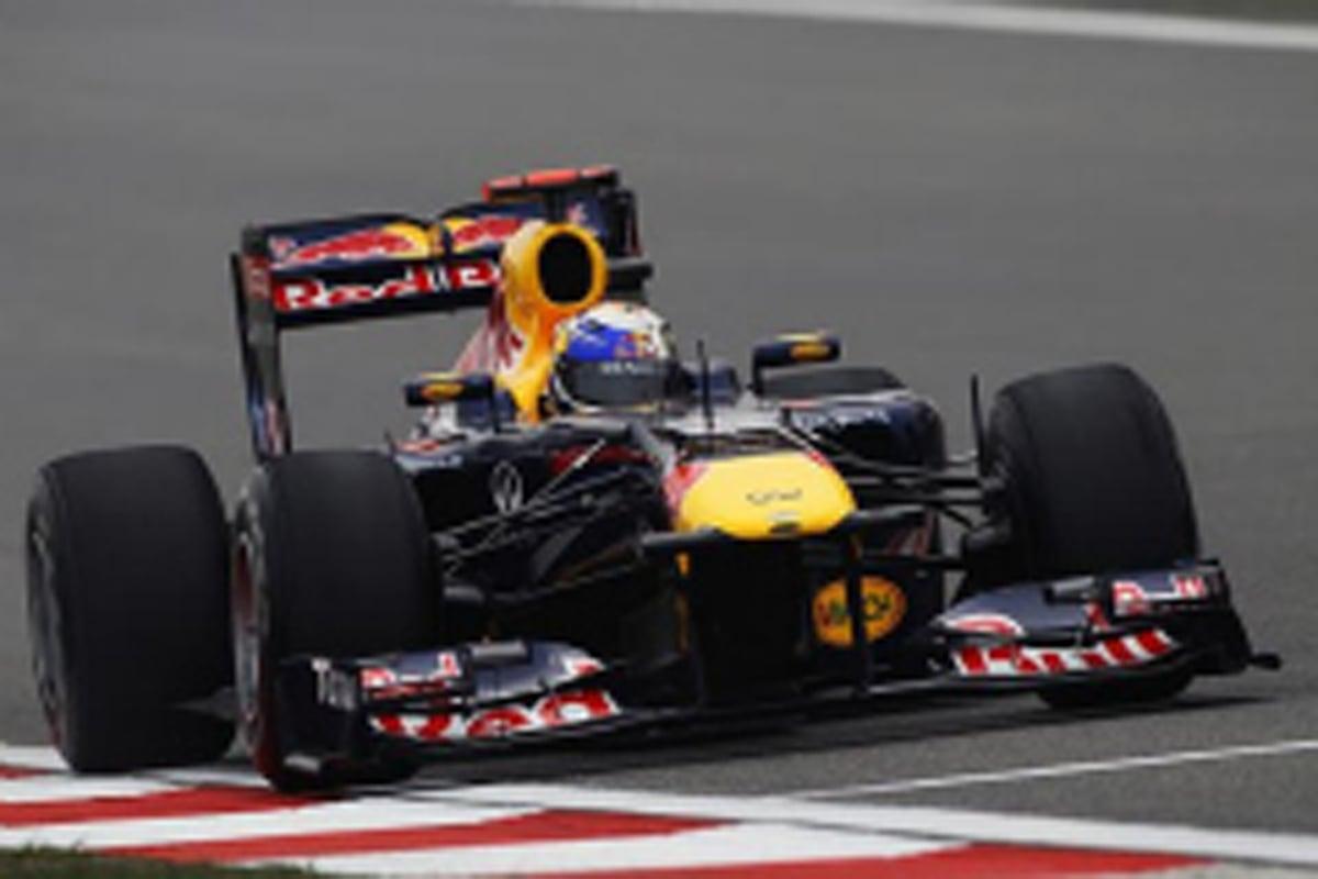 F1中国GP フリー走行2回目