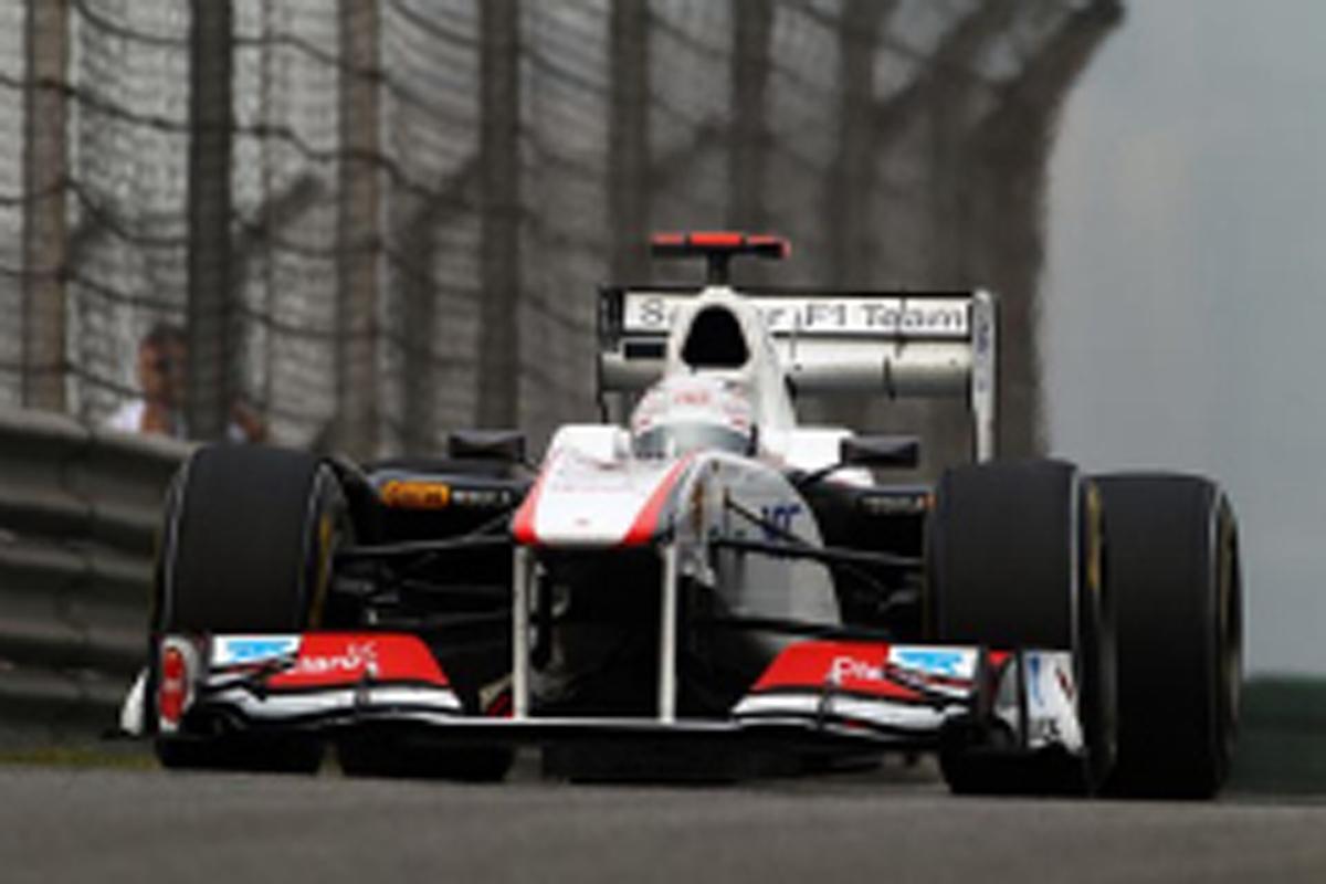 小林可夢偉 F1 中国GP