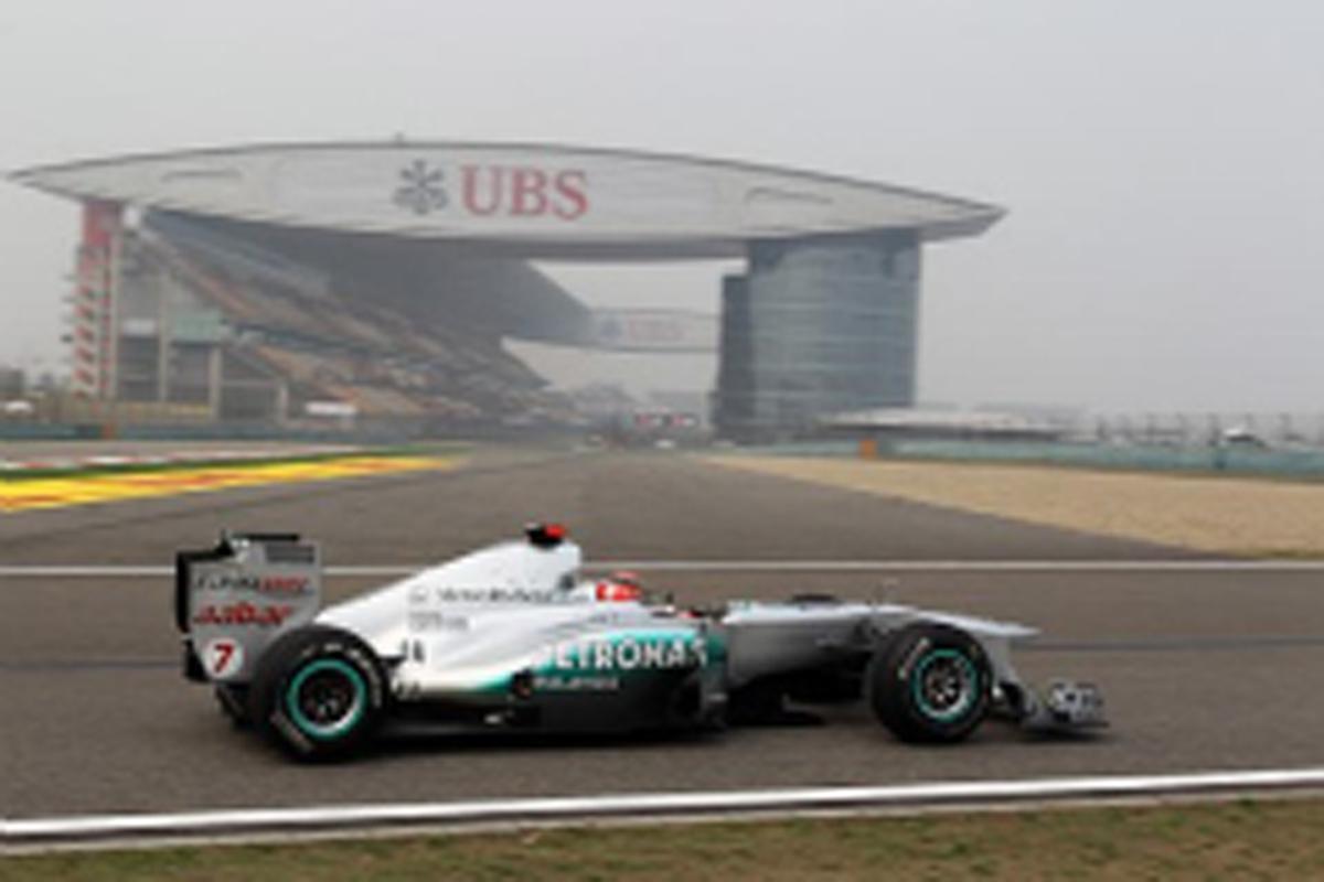 メルセデスGP F1中国GP