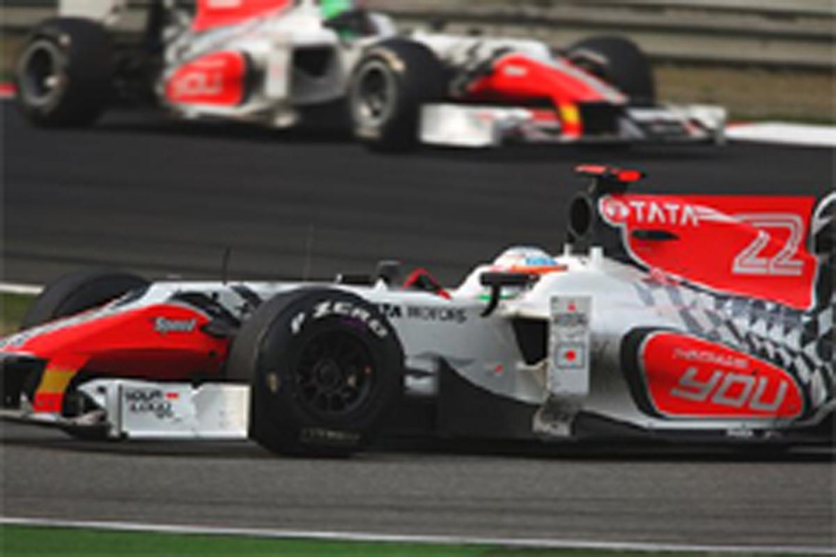 ヒスパニア・レーシング F1中国GP 結果