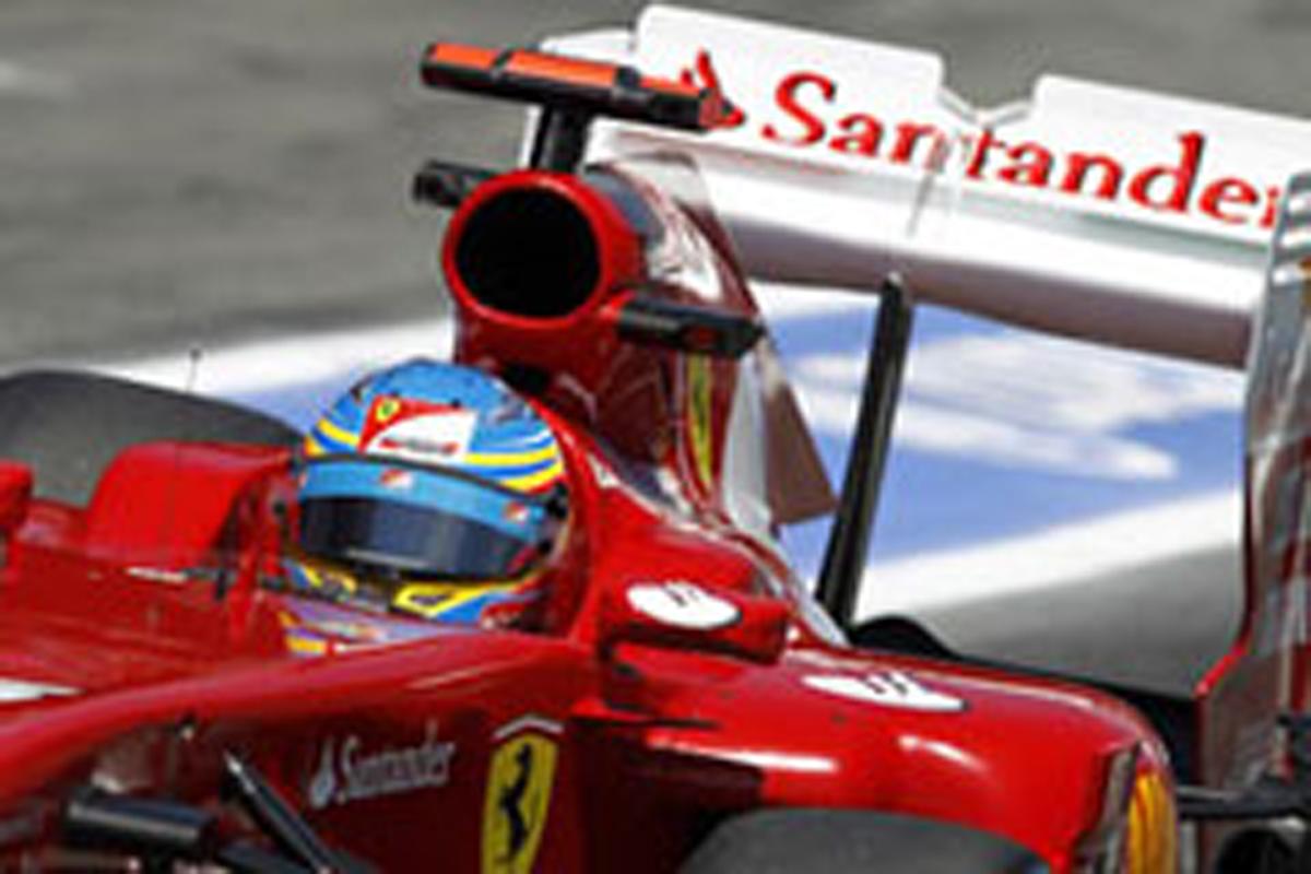 フェラーリ リアウイング