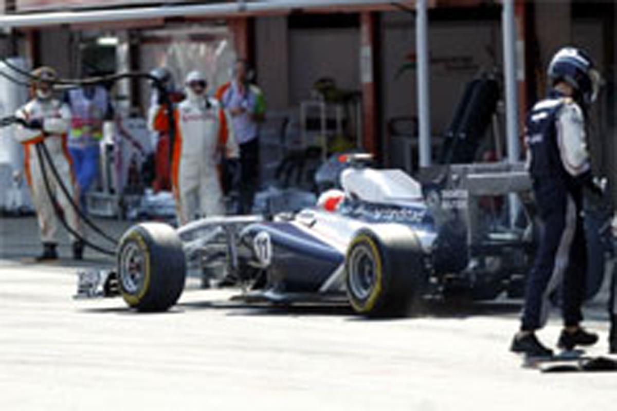 ウィリアムズ F1スペインGP 結果