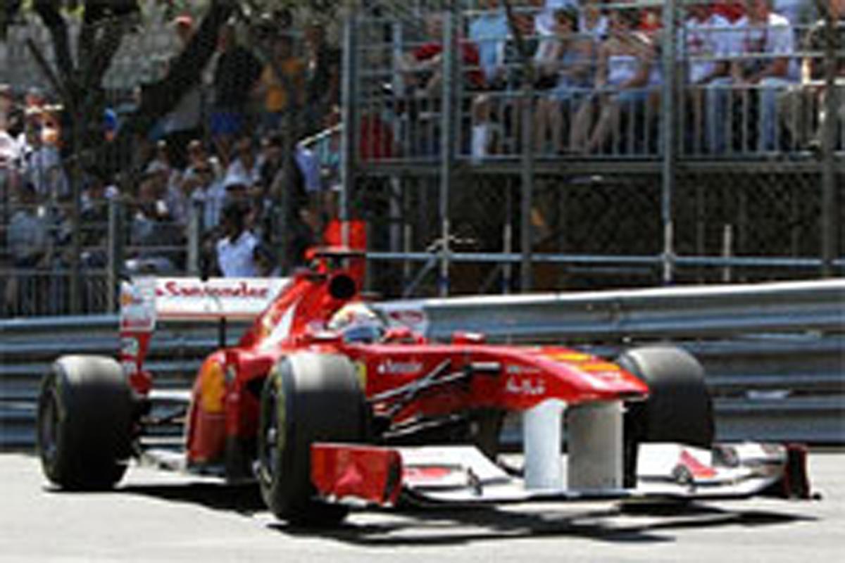 F1モナコGP フリー走行2回目