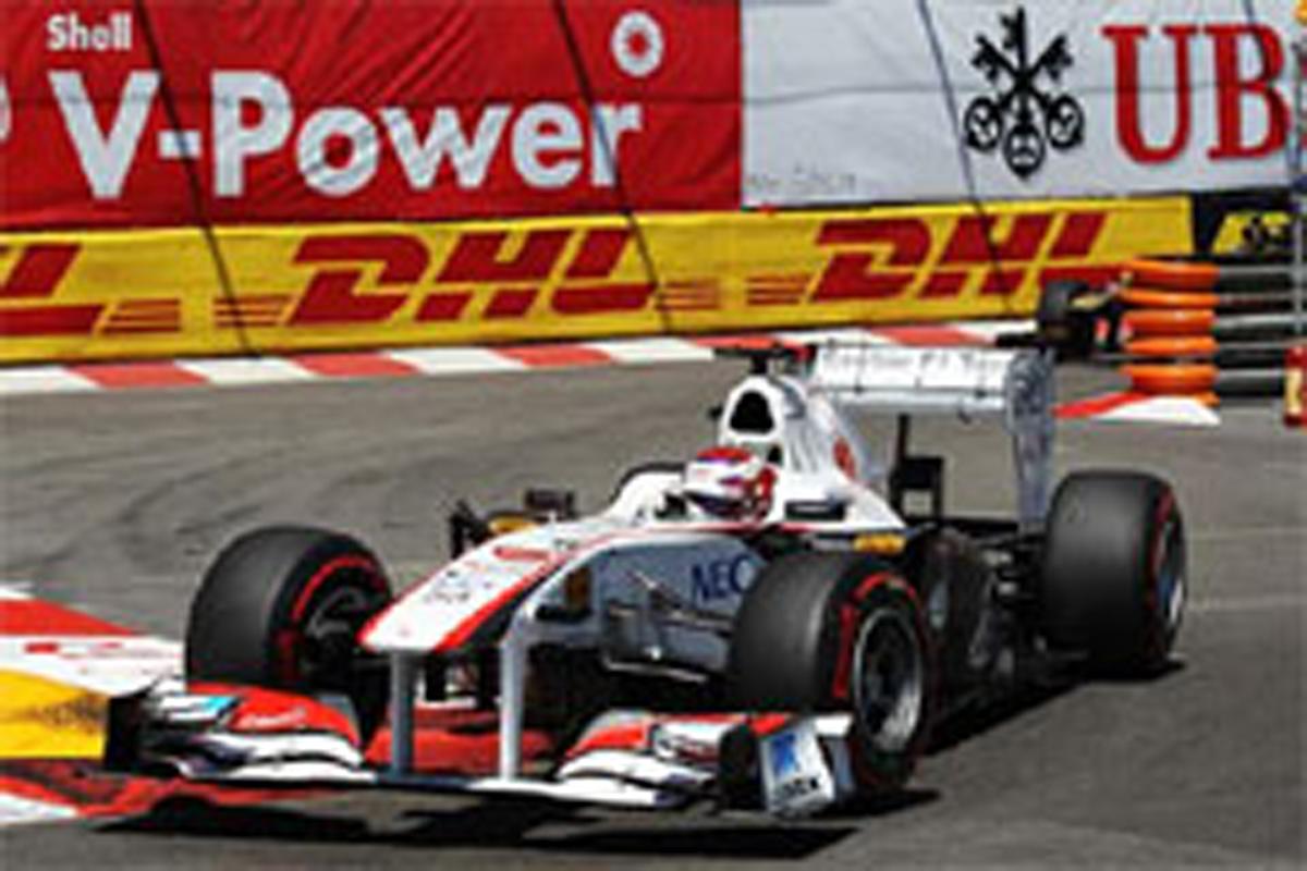 小林可夢偉 F1モナコGP 予選